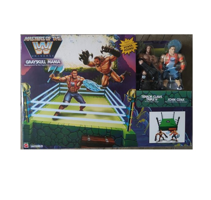 Masters of WWE Grayskull Mania GMN96 887961859614