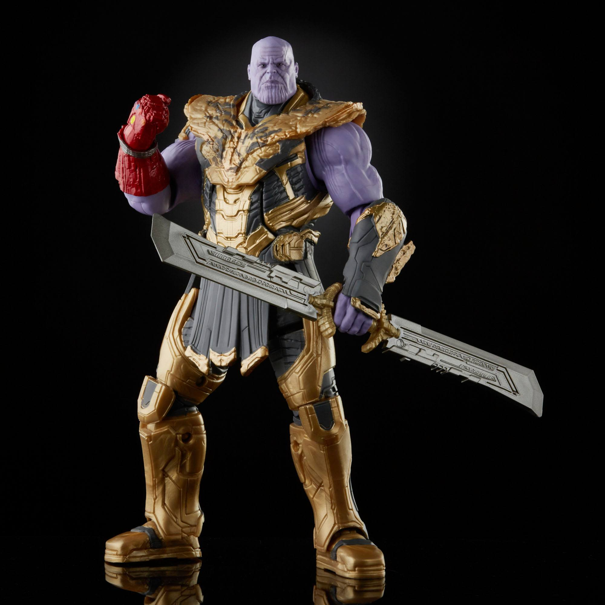 The Infinity Saga Marvel Legends Series Actionfiguren 2-Pack 2021 Iron Man & Thanos (Endgame) 15 cm F01925L0 5010993842353