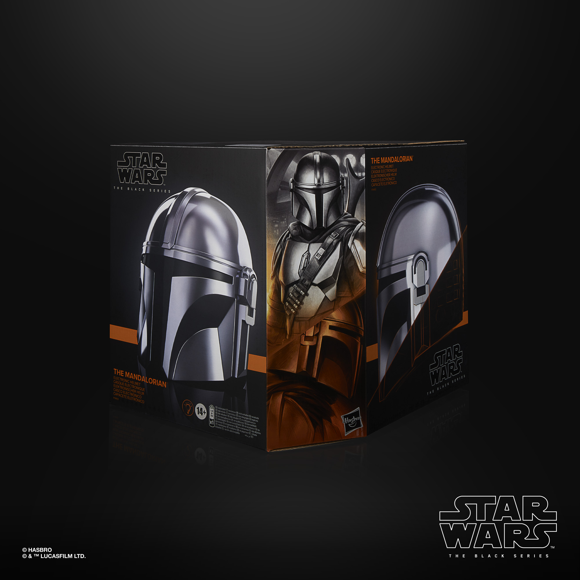 Star Wars The Black Series The Mandalorian Helmet F04935L0 5010993800933