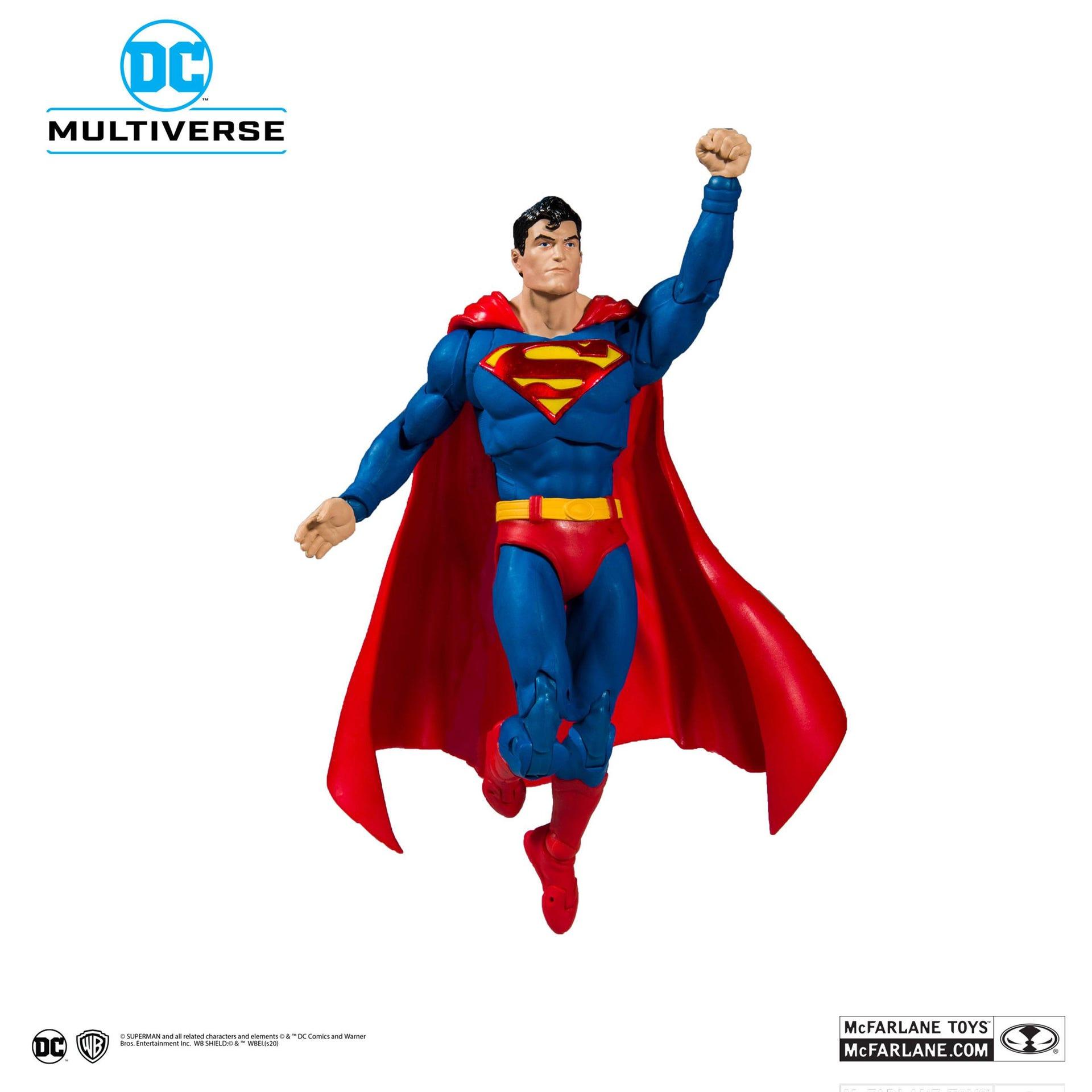DC Rebirth Actionfigur Superman (Modern) Action Comics #1000 18 cm   787926150025