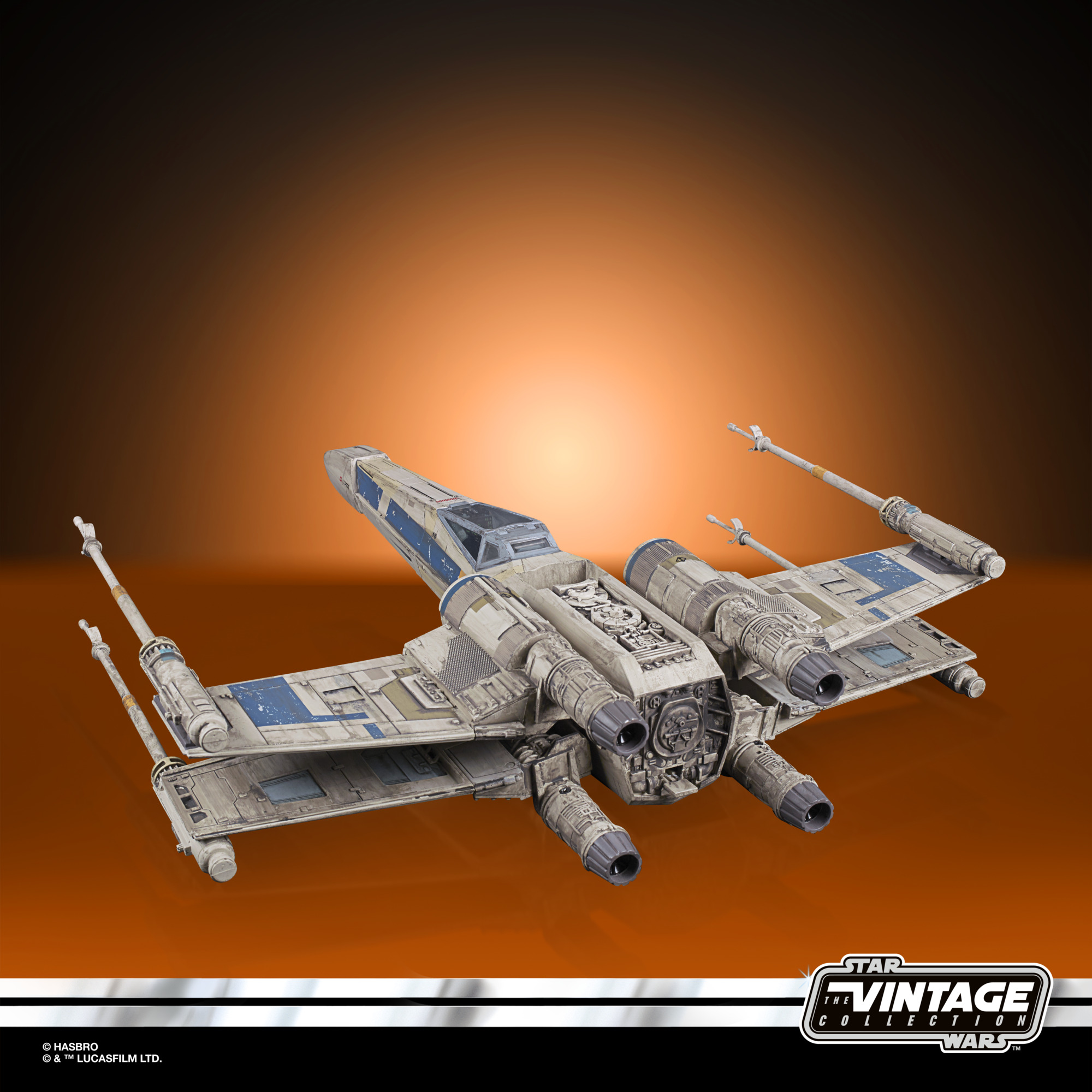 Star Wars Rogue One The Vintage Collection Fahrzeug mit Figur Antoc Merrick's X-Wing Fighter HASF2885 5010993898985
