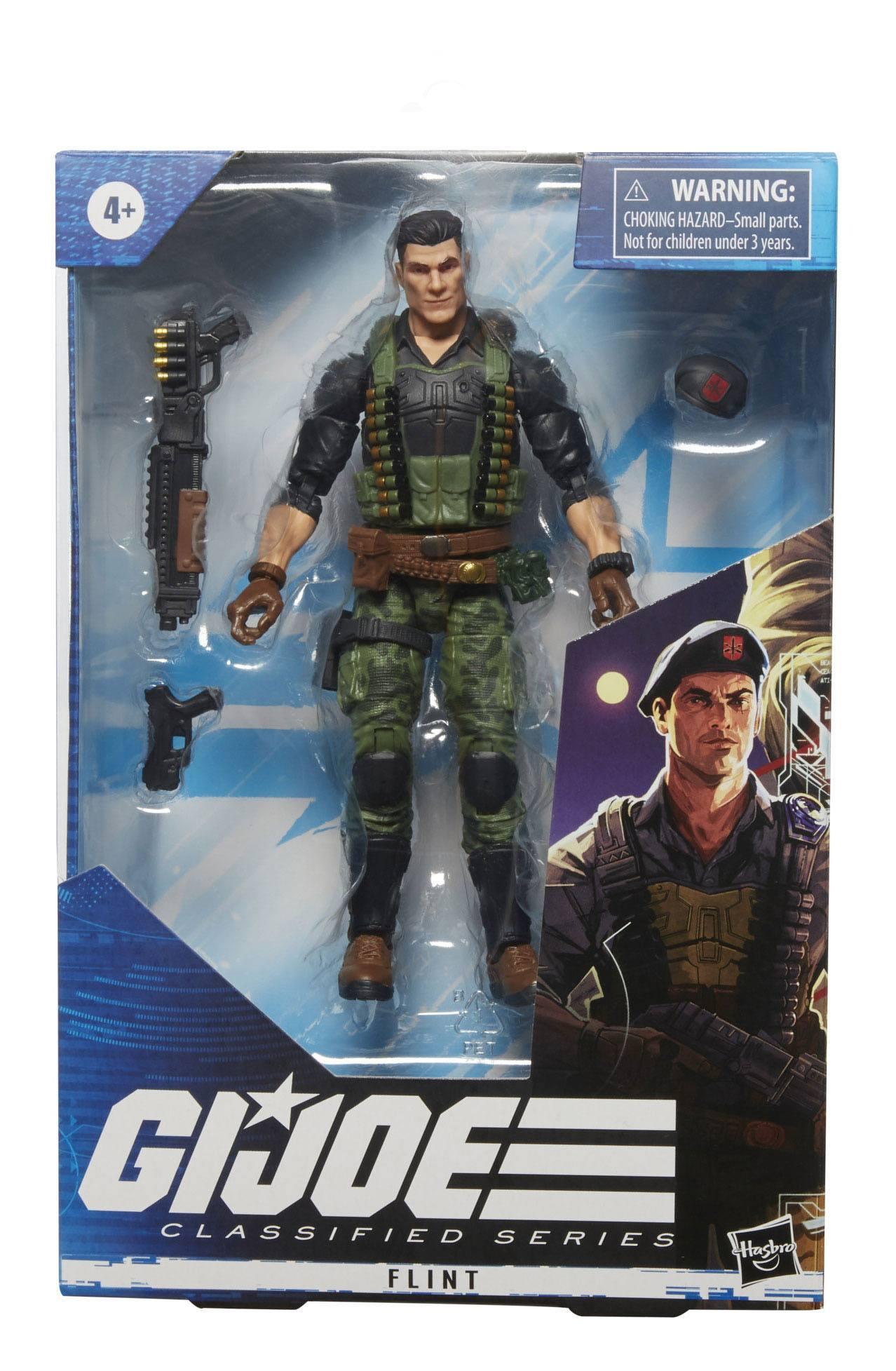 G.I. Joe Classified Series FIGURE FLINT 15cm F09665X00 5010993790395