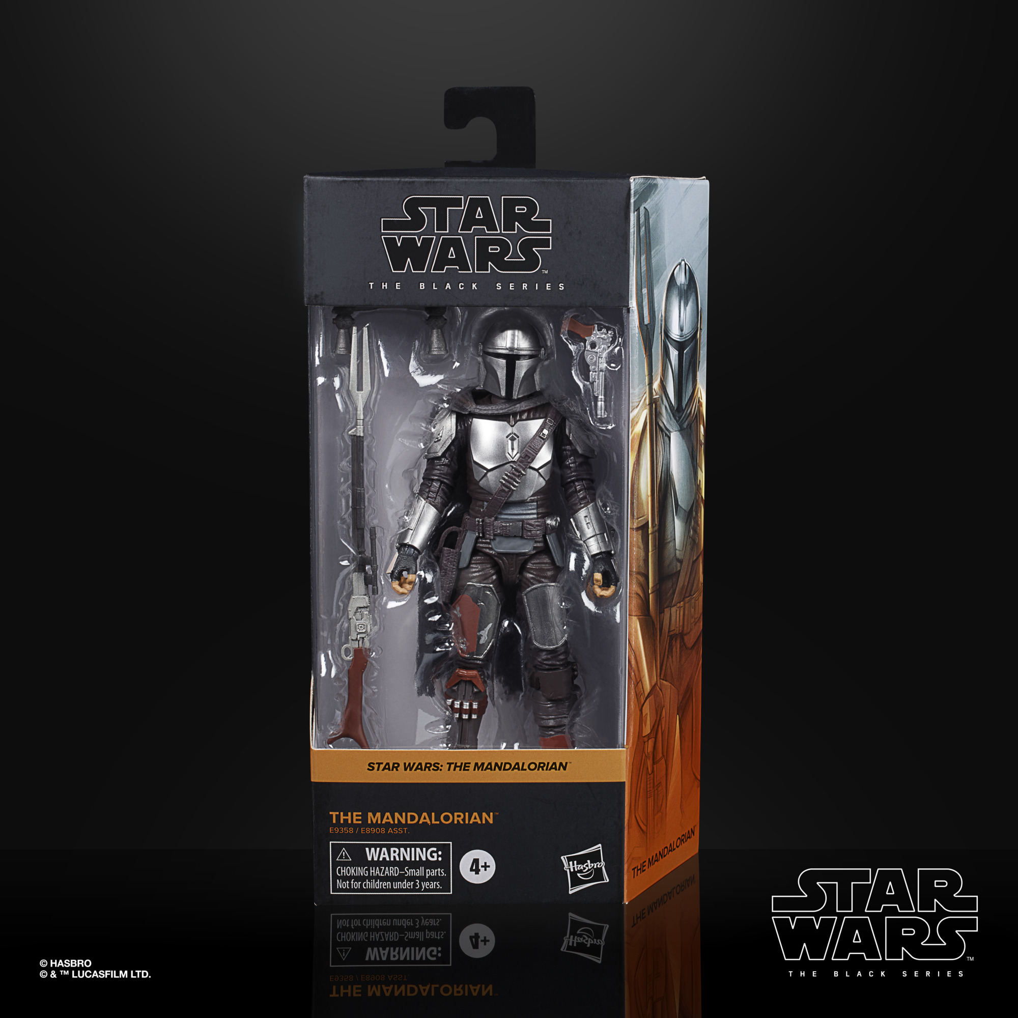 Star Wars The Black Series The Mandalorian (Beskar Armor) 15cm E93585X00 5010993749218