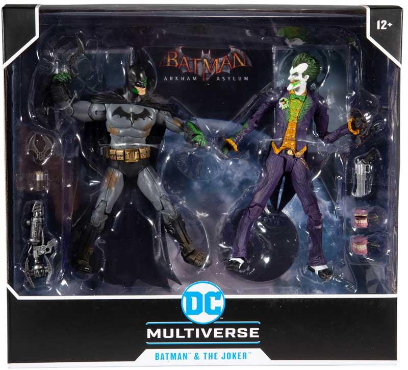 DC Gaming Multipack - Arkham Batman vs Arkham Joker 15348-4 0787926153484
