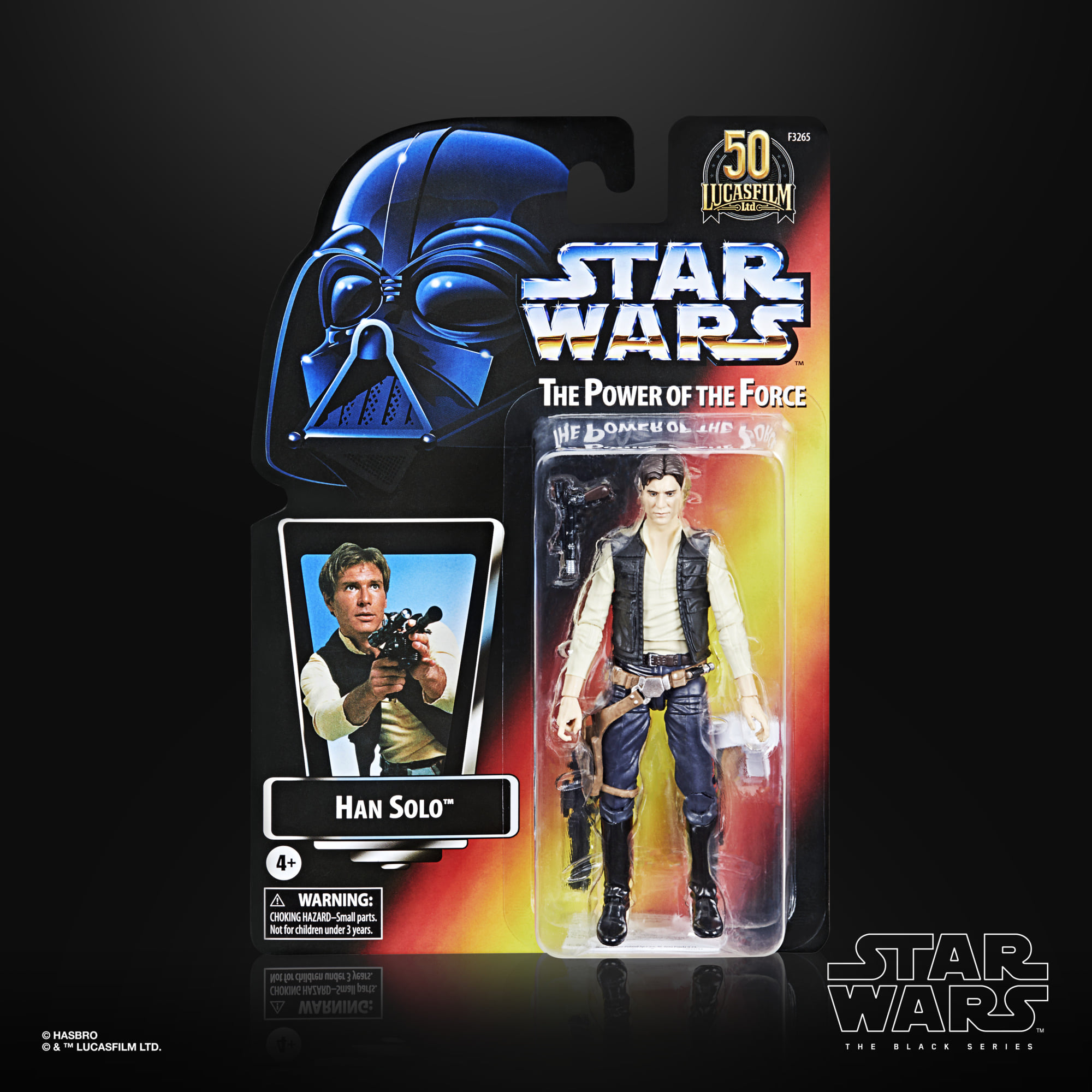 Star Wars The Black Series THE POWER OF THE FORCE - Han Solo