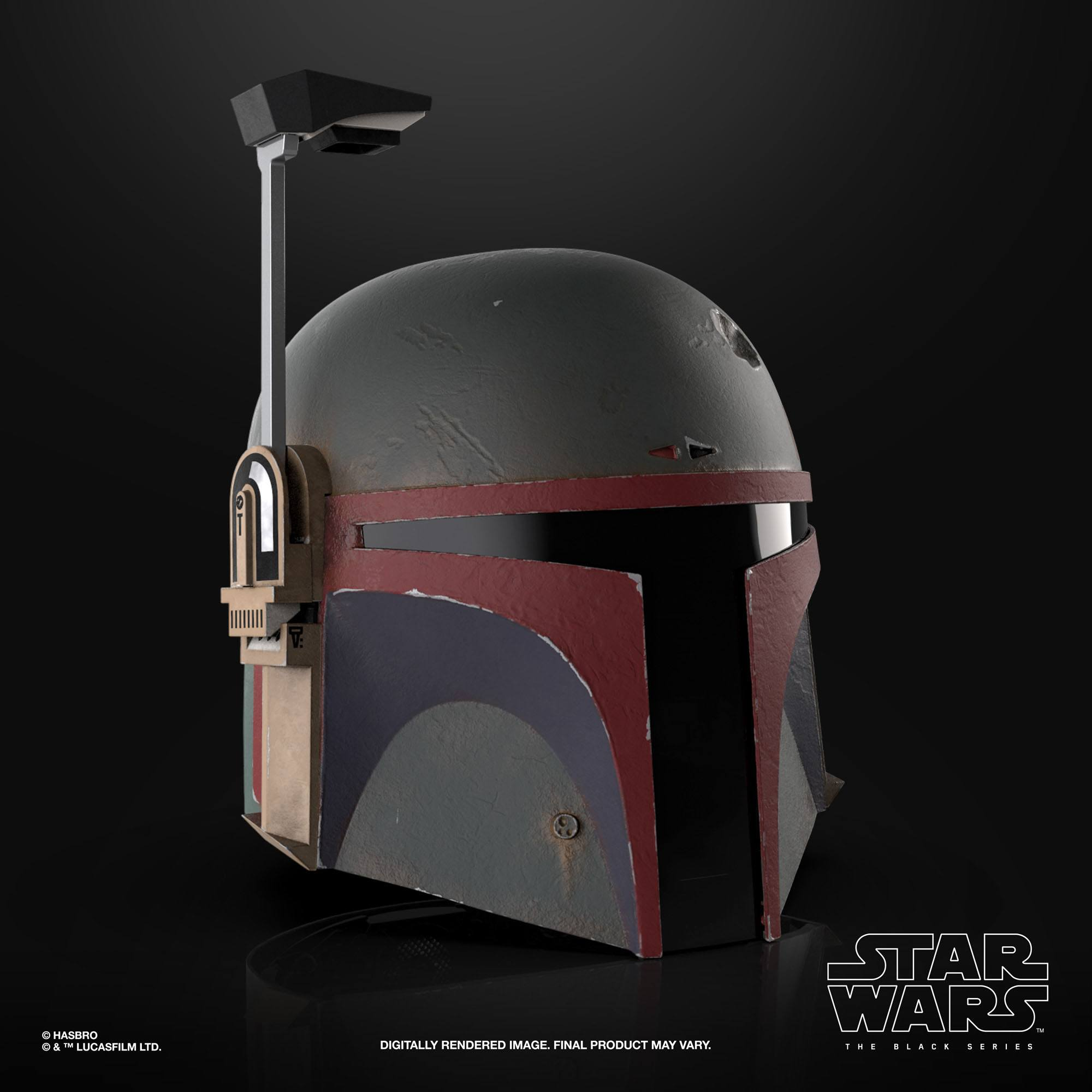 Star Wars The Mandalorian Black Series Elektronischer Helm Boba Fett (Re-Armored) F52815L0 5010993927685