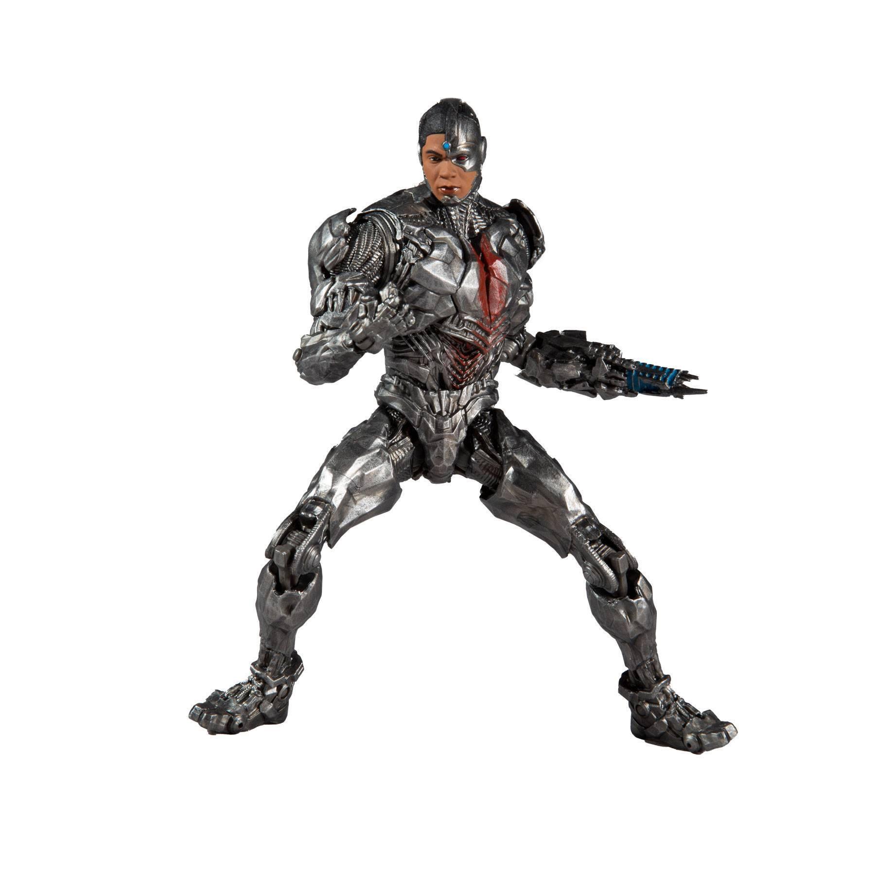 DC Justice League Movie Actionfigur Cyborg 18 cm MCF15093-3 787926150933
