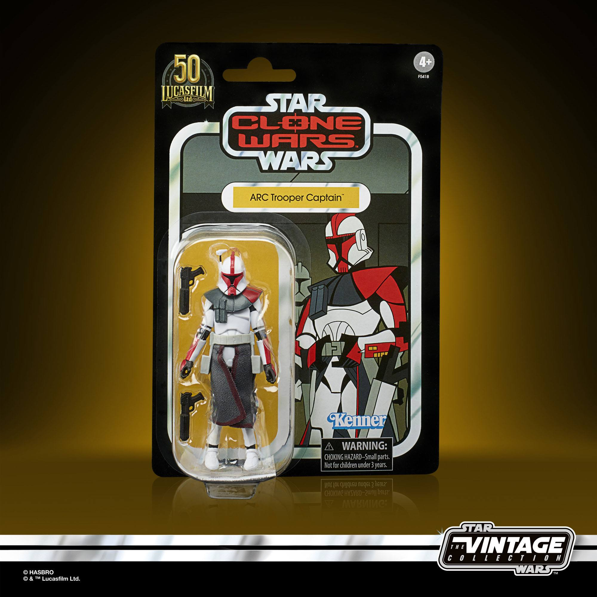 Star Wars The Clone Wars Vintage Collection Actionfigur 2022 ARC Trooper Captain 10 cm F54185L00
