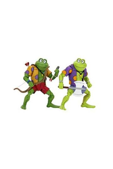 Teenage Mutant Ninja Turtles Actionfiguren Doppelpack Genghis & Rasputin Frog 18 cm NECA54173 634482541739