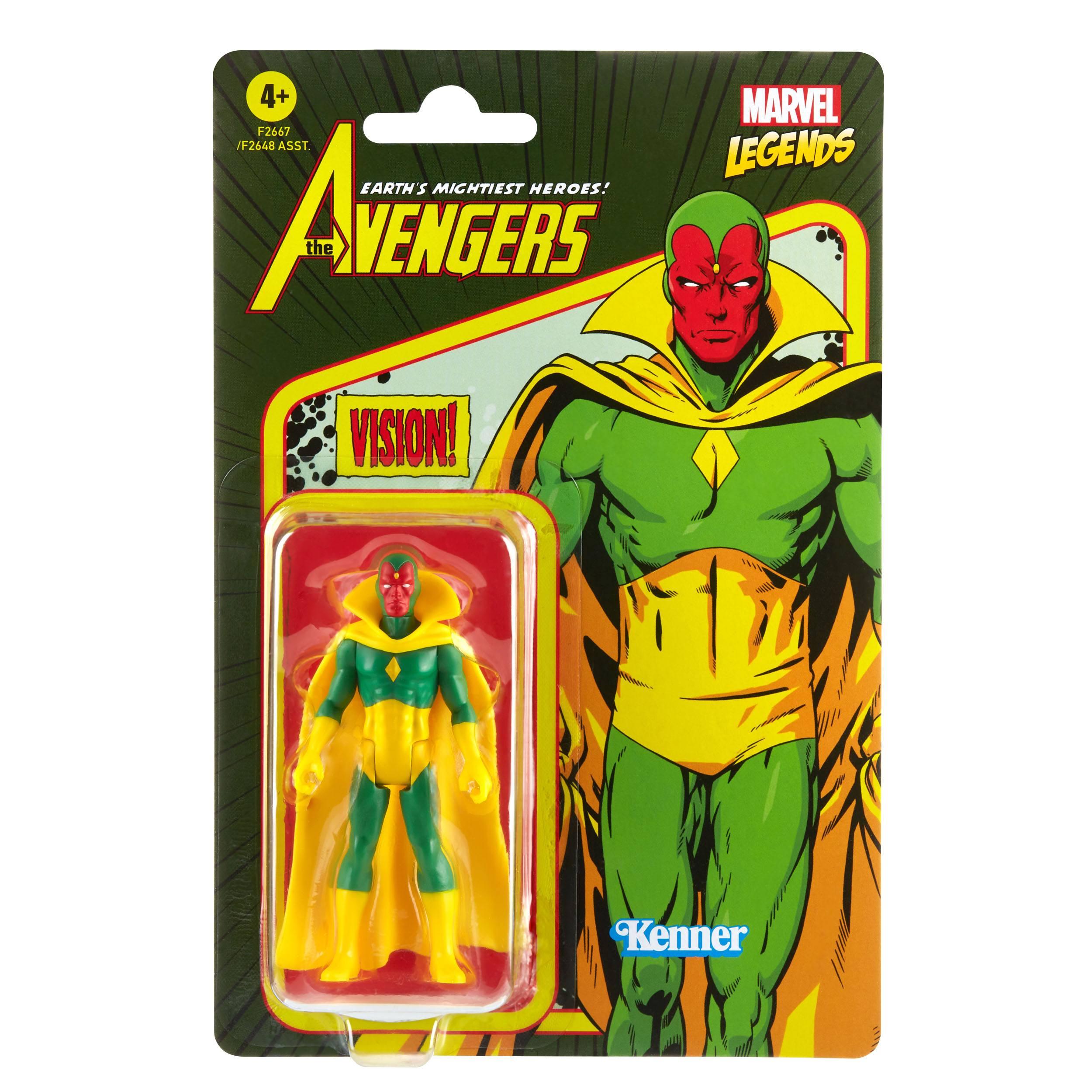 Marvel Legends Retro 375 Collection Assortment (7) Wave 3 F26485L02 5010993842766