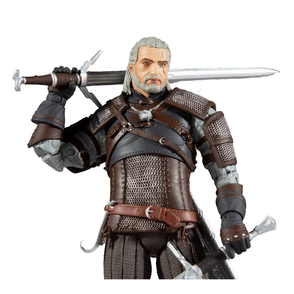 The Witcher Actionfigur Geralt of Riva 18 cm MCF13401-8 787926134018