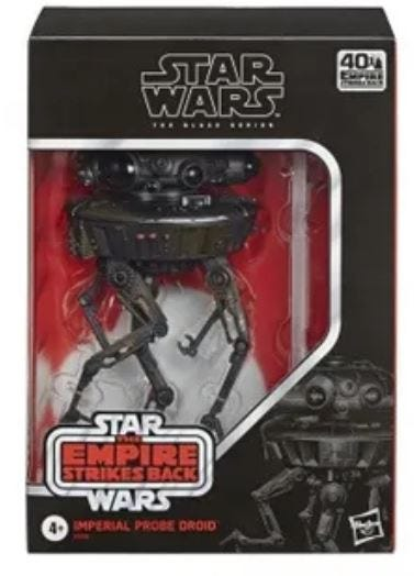 Star Wars The Black Series Imperial Probe Droid Deluxe Action Figure 15cm E76565L00 E76565L00
