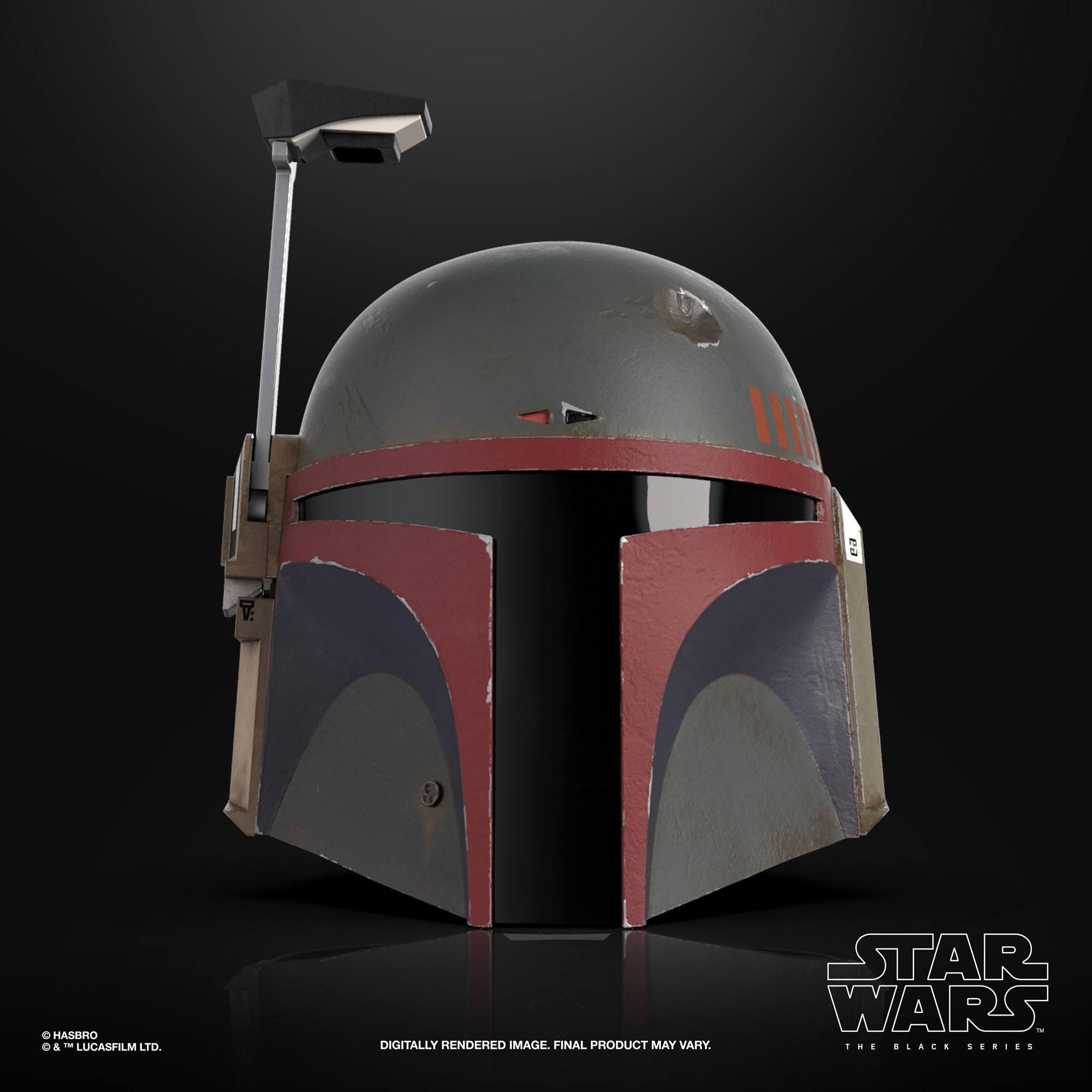 Star Wars The Mandalorian Black Series Elektronischer Helm Boba Fett (Re-Armored) F52815L0 5010993927685