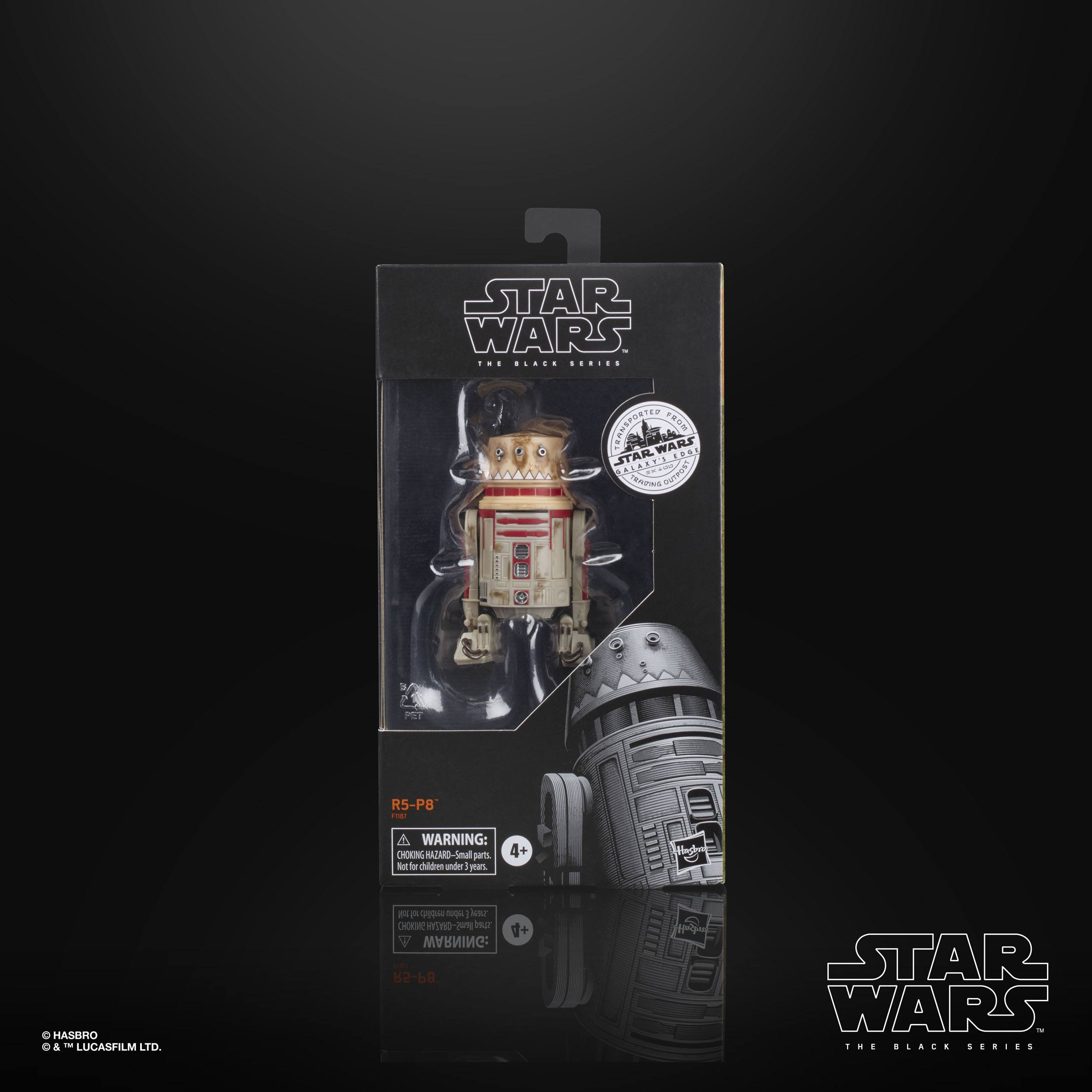 Star Wars Galaxy's Edge Black Series Actionfigur 2020 R5-P8 15 cm HASF1187 5010993773091