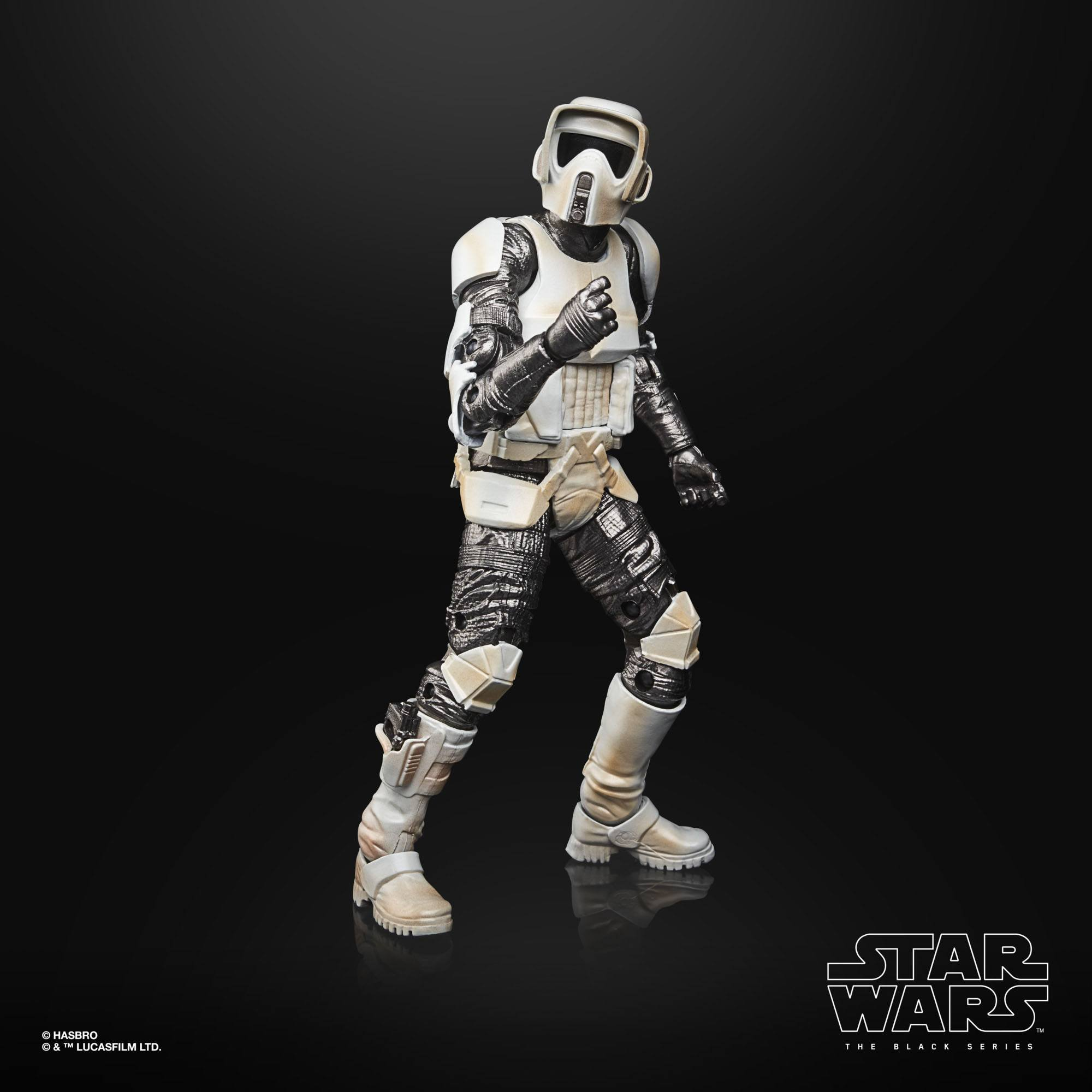 Star Wars The Black Series Carbonized Collection Scout Trooper F28715L00 5010993899791