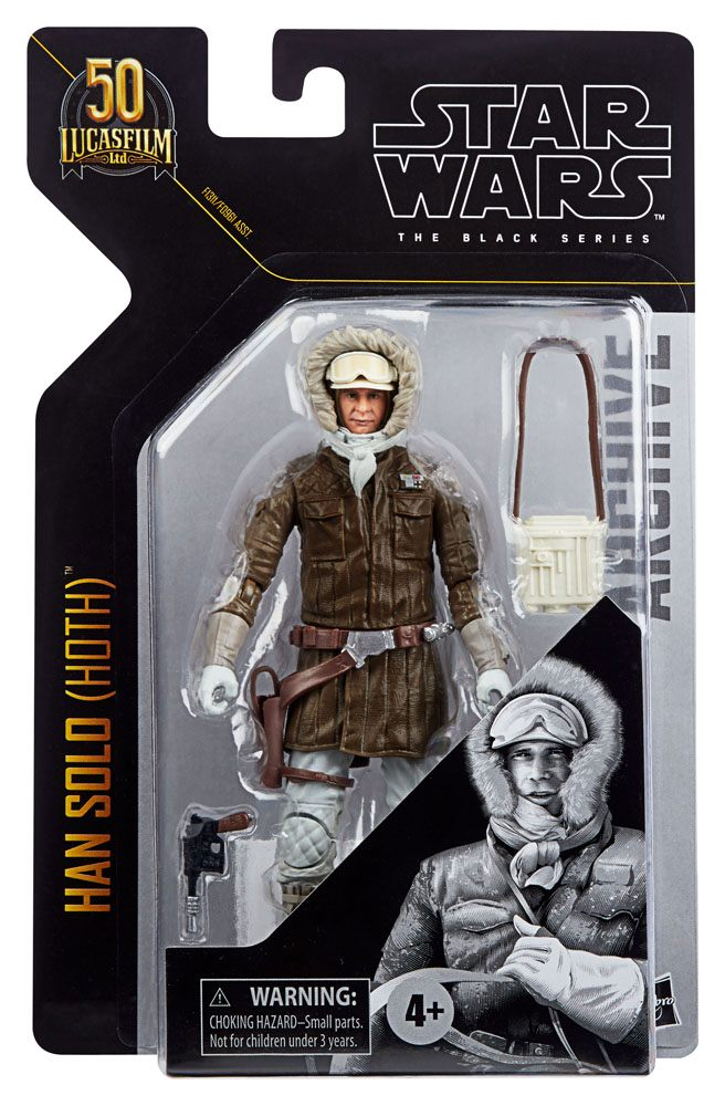 Star Wars Black Series Archive 50th Anniversary Han Solo (Hoth) F1311 5010993813438