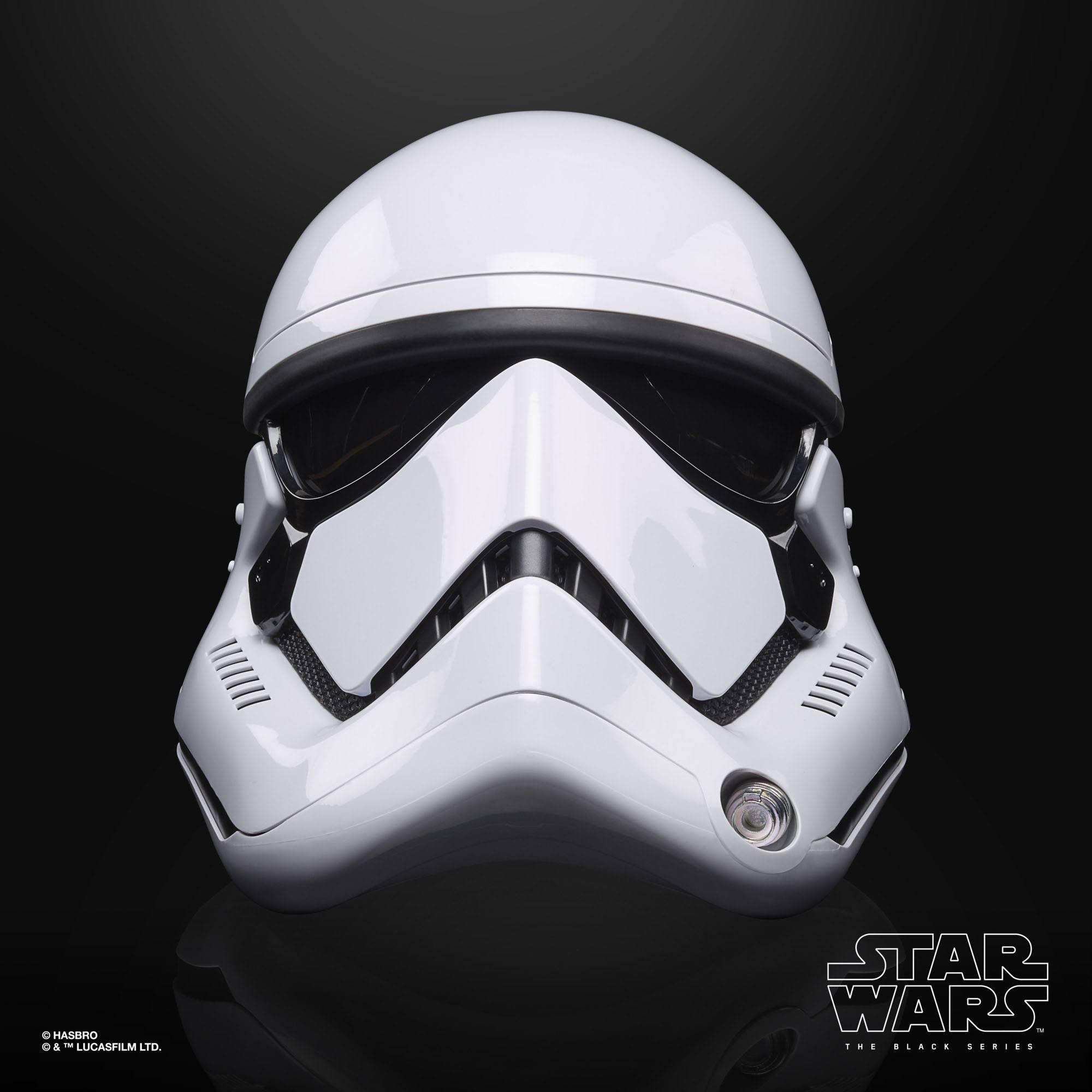 Star Wars Episode VIII Black Series Elektronischer Helm First Order Stormtrooper F00125L00  5010993737093