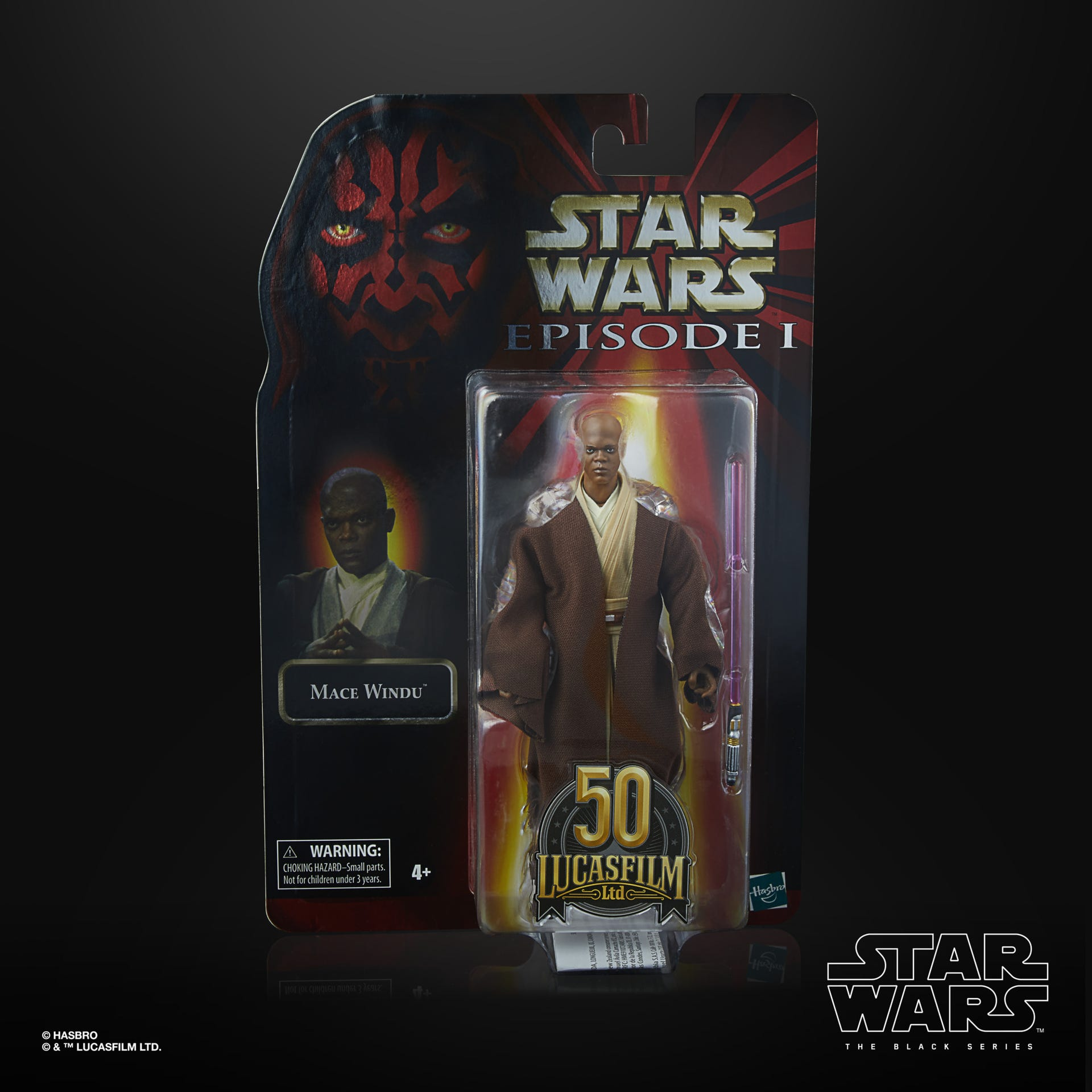 Star Wars The Black Series Mace Windu LUCASFILM 50TH ANNIVERSARY FIGUR - Preorder März 2021  F27325L00 5010993866168