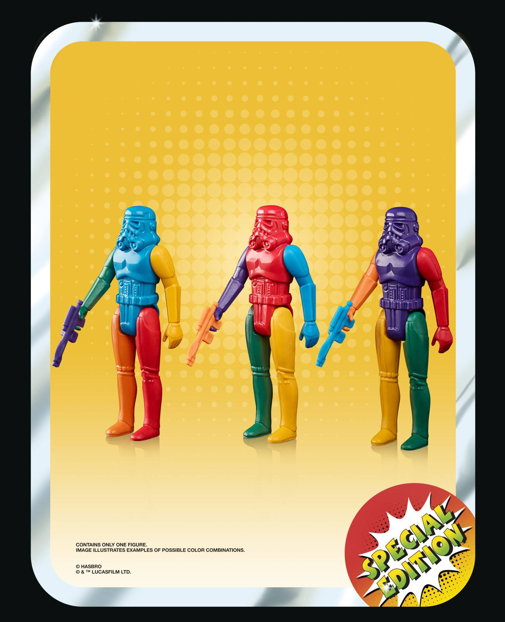 BESTELLUNG ERST BEI RELEASE MÖGLICH Star Wars Retro Collection Actionfigur 2021 Stormtrooper Prototype Edition 10 cm HASF5318 5010993950041
