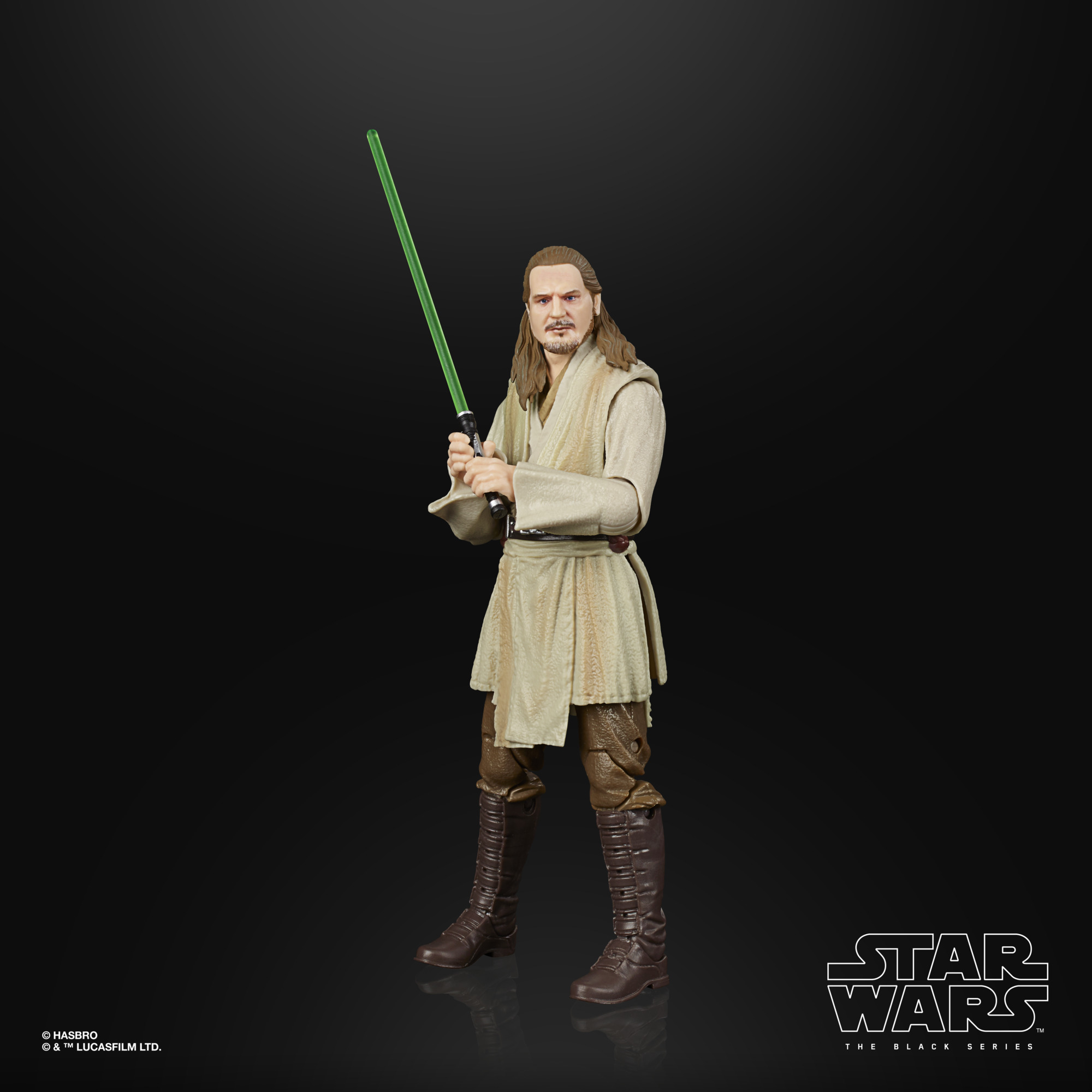 Star Wars The Black Series Qui-Gon Jinn LUCASFILM 50TH ANNIVERSARY FIGURE F27295L00  5010993861415