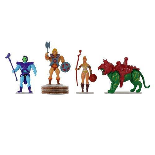 World's Smallest Masters of the Universe Random Mini-Figures (4) 5030 20810010990949