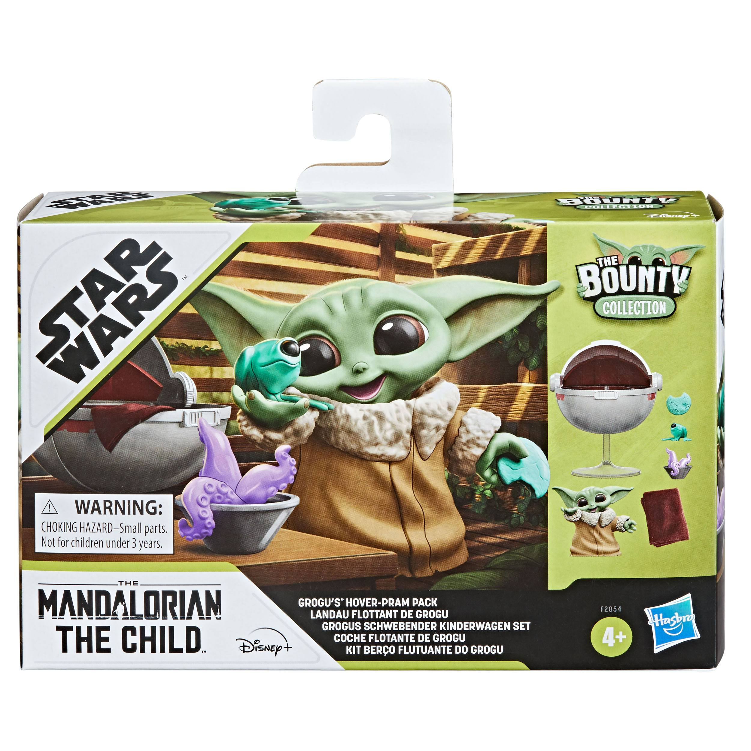 Star Wars Mandalorian Bounty Collection Pack Grogus schwebender Kinderwagen HASF2854 5010993889075