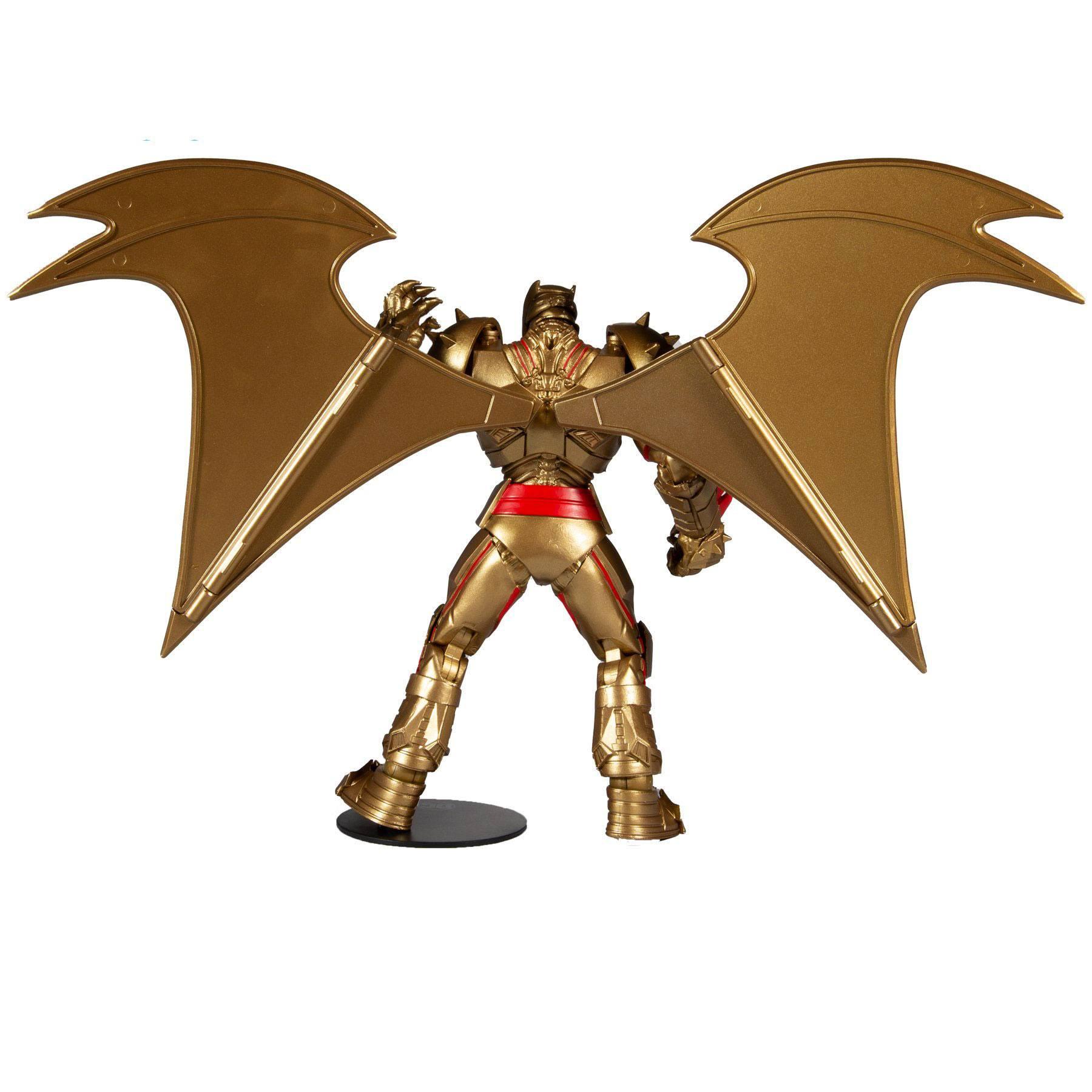 DC Multiverse Actionfigur Batman Hellbat Suit (Gold Edition) 18 cm MCF15174-9 787926151749