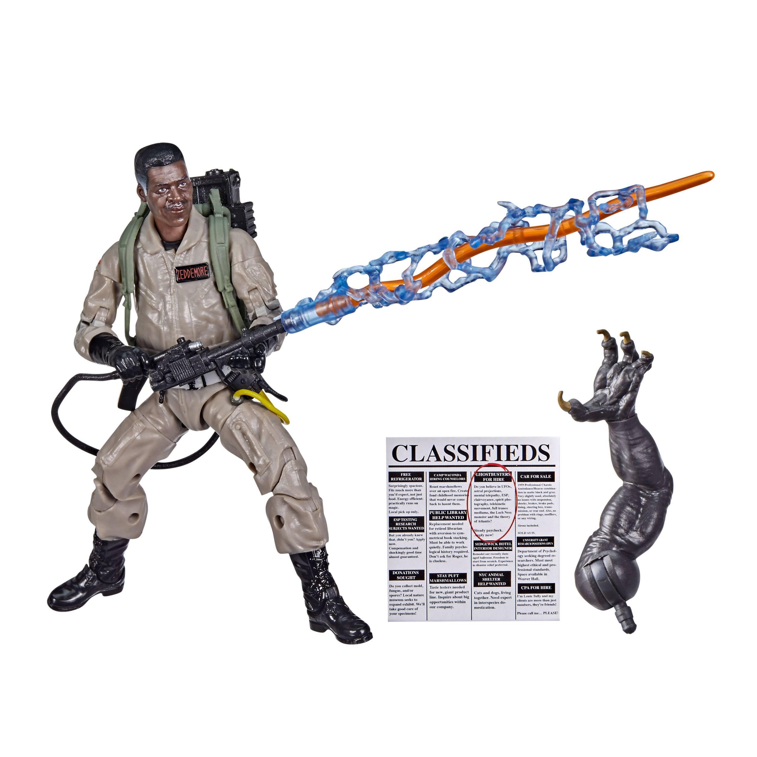 Ghostbusters Plasma Series Ghostbusters: Afterlife Winston Zeddemore  5010993853267