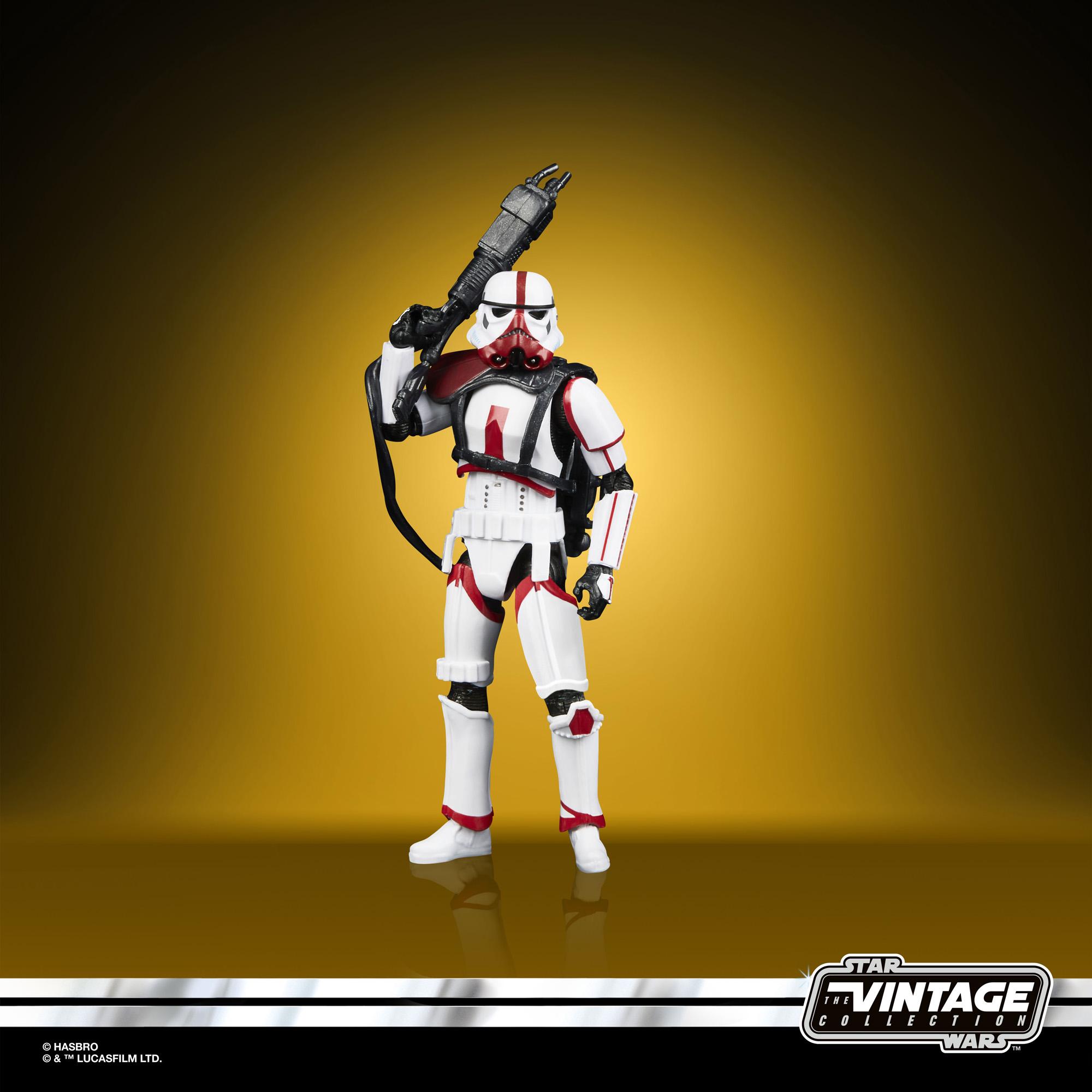 Import Star Wars Vintage Collection Incinerator Trooper F0879  5010993792719