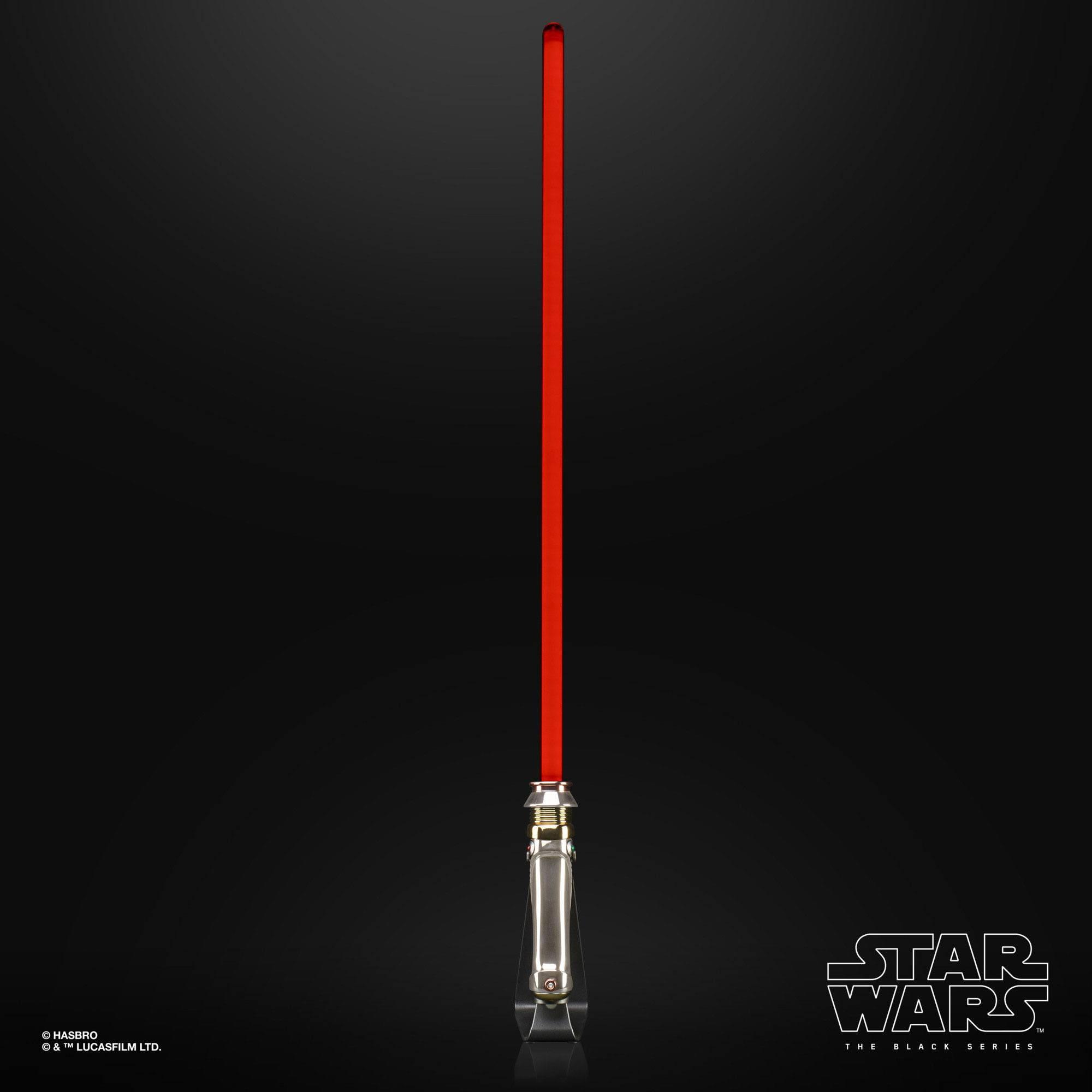 Star Wars The Black Series Emperor Palpatine Force FX Elite Lightsaber E94985L0 5010993756643