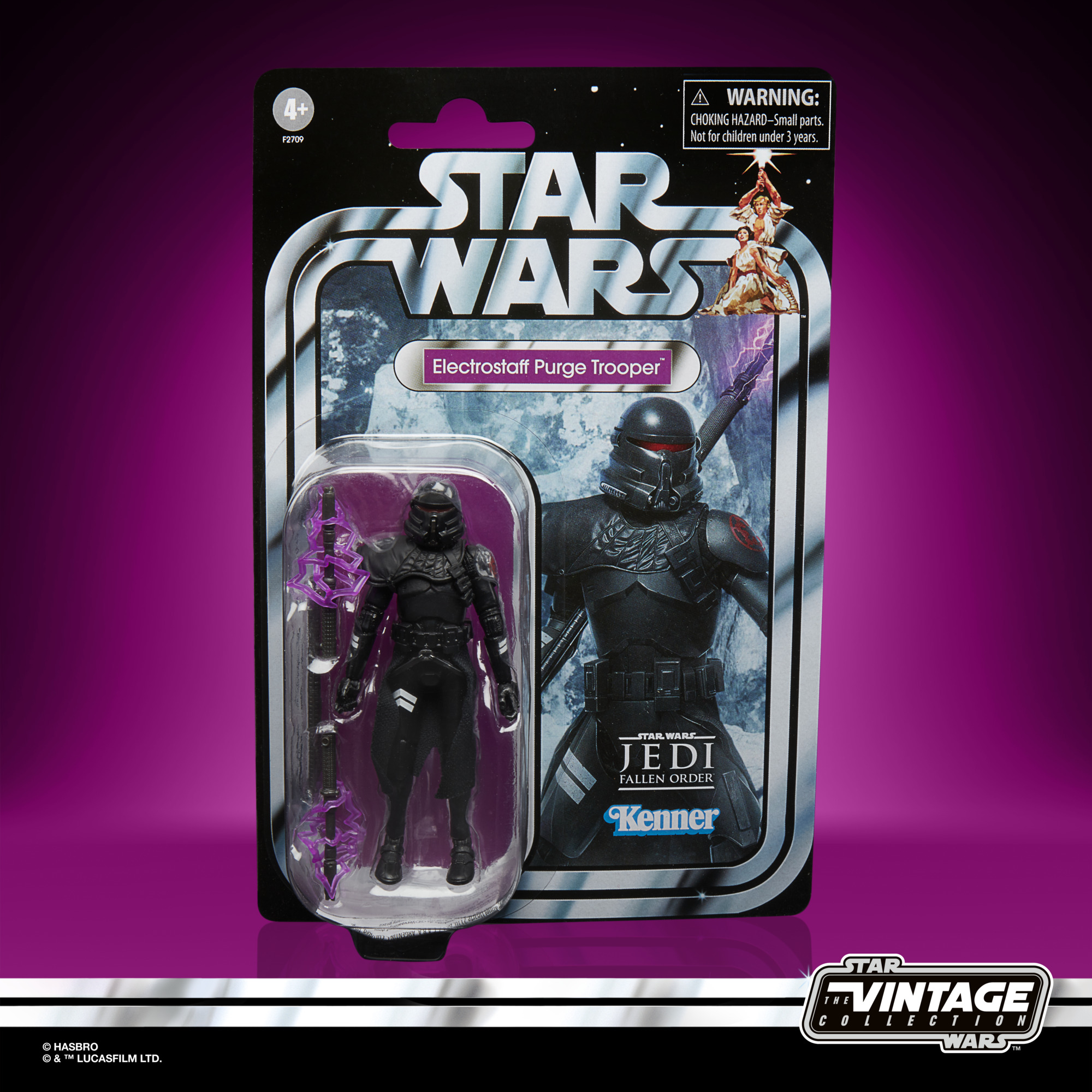 Star Wars The Vintage Collection Electrostaff Purge Trooper Gaming Greats - EE Exclusive F2709