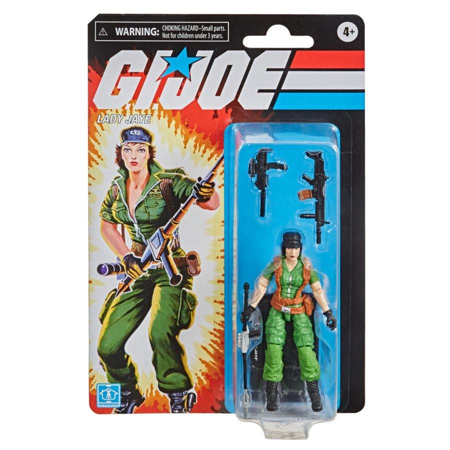 G.I. Joe RETRO Series Action Figure Lady Jaye 9,5 cm F10045L00 5010993797363