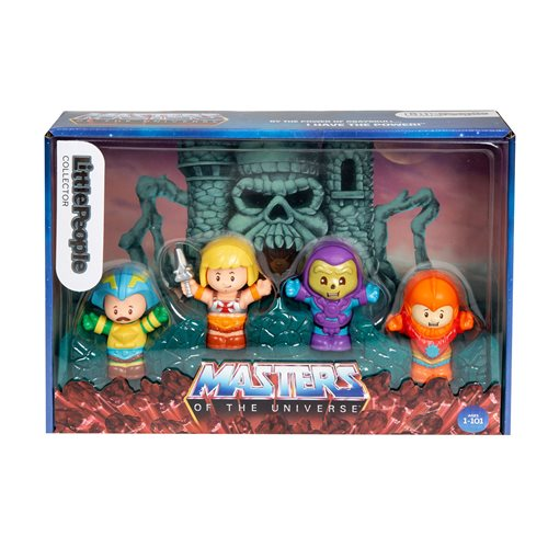 Masters of the Universe Collector Set by Fisher-Price Little People GTM23-9997 00887961917802