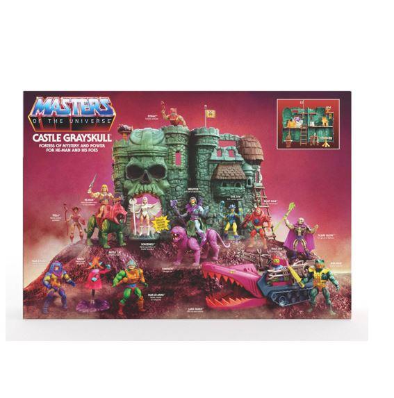 Masters of the Universe Origins Castle Grayskull MATTGXP44 00887961960242