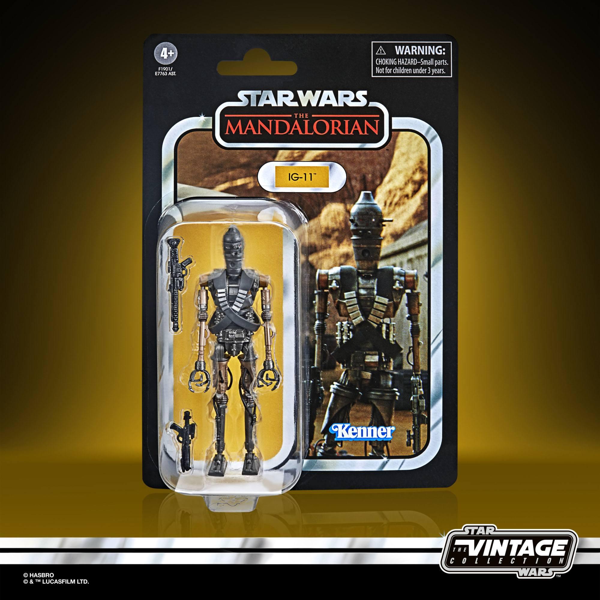 Star Wars Vintage Collection  IG 11 F19015L00 5010993866328