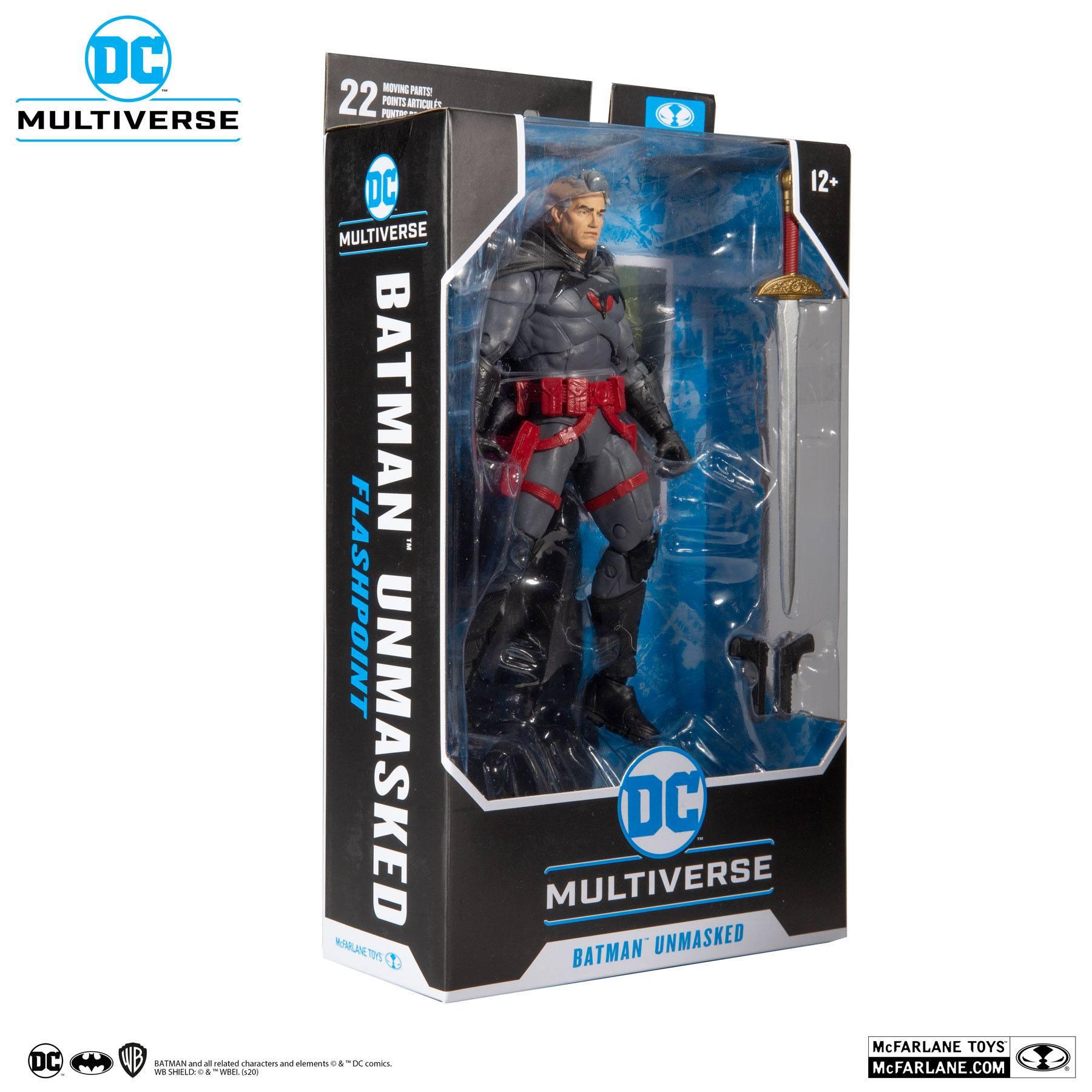 DC Multiverse Actionfigur Thomas Wayne Flashpoint Batman (Unmasked) 18 cm MCF15018-6 787926150186