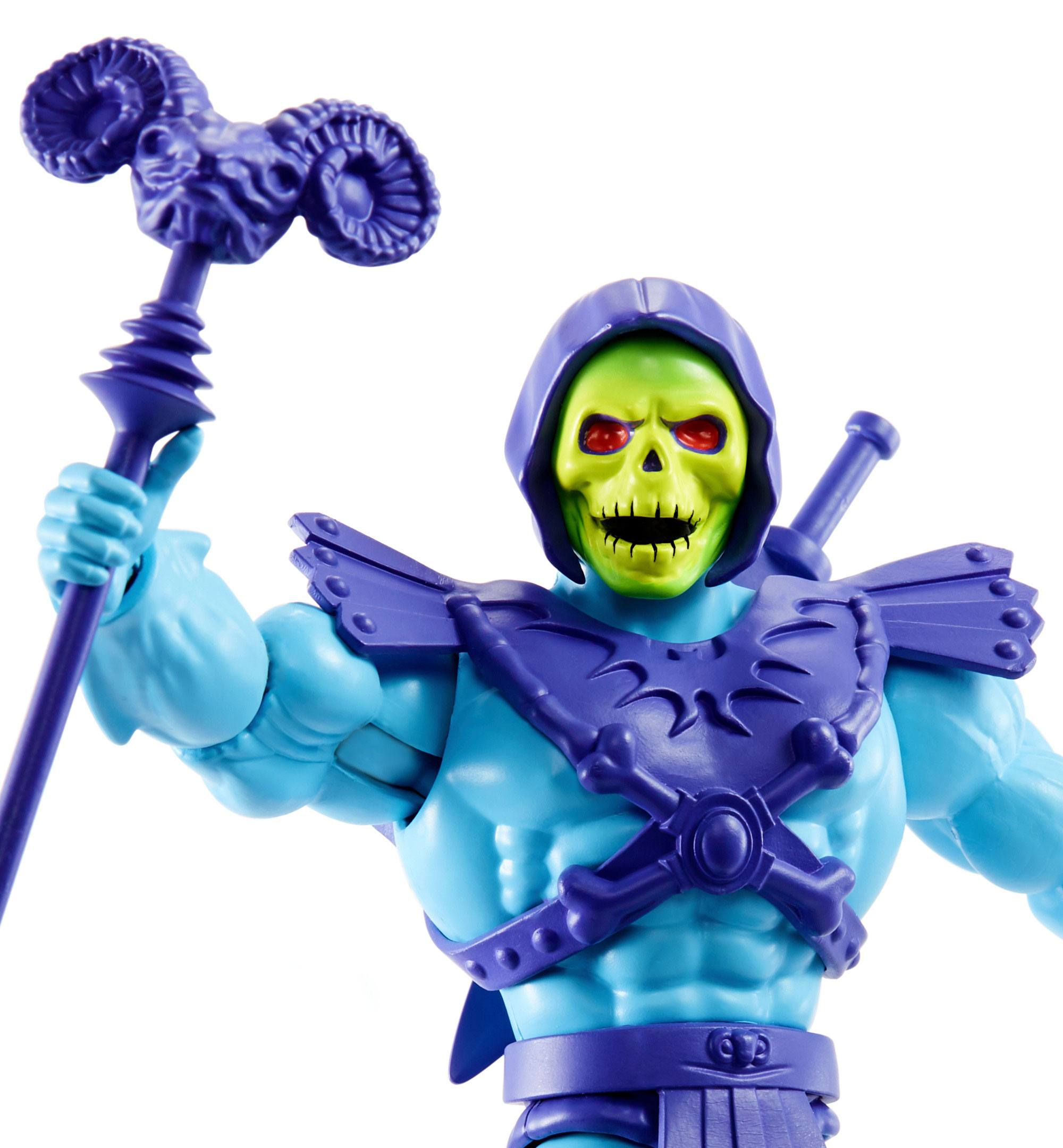 New for 20 Masters of the Universe Origins Actionfigur 2020 Skeletor 14 cm MATTGNN88 0887961875409