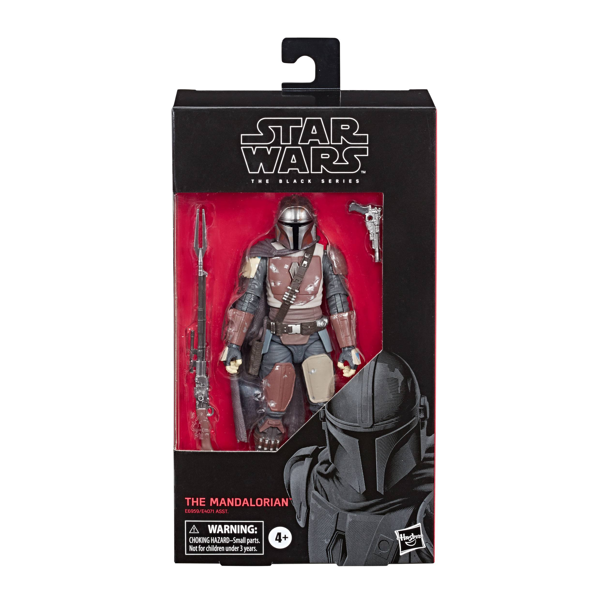 Star Wars The Black Series The Mandalorian Toy 6-inch Scale Collectible Action Figure E6959ES00 5010993622153