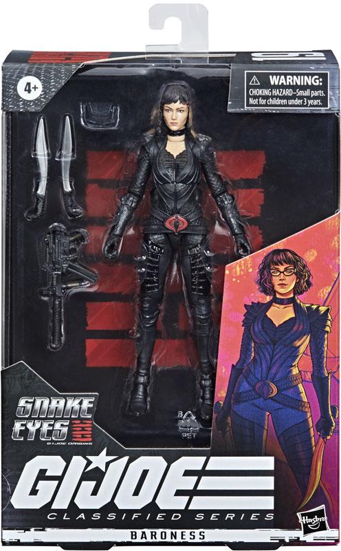 G.I. Joe Classified Series Actionfigur 15 cm Baroness (Movie) F0110 5010993736966