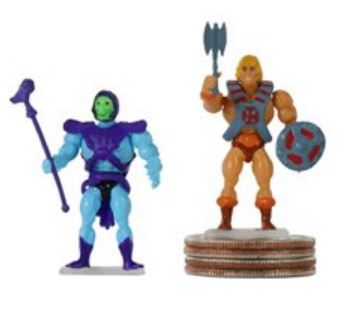 World's Smallest Masters of the Universe Random Mini-Figures (2) 5030 20810010990949