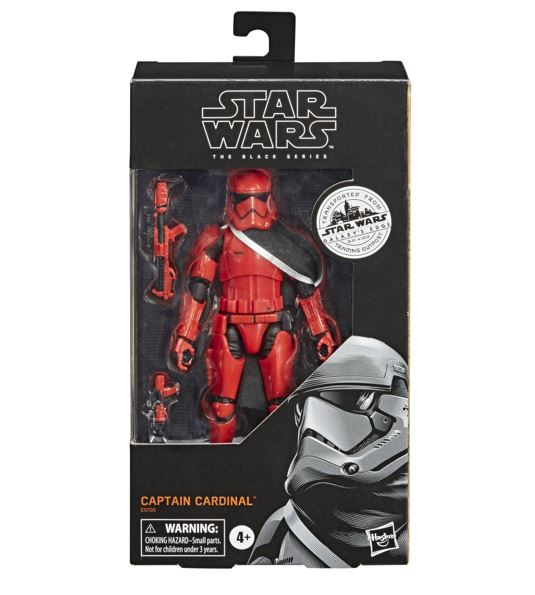 Star Wars Galaxy's Edge Black Series Captain Cardinal 15 cm HASE9700 5010993729937