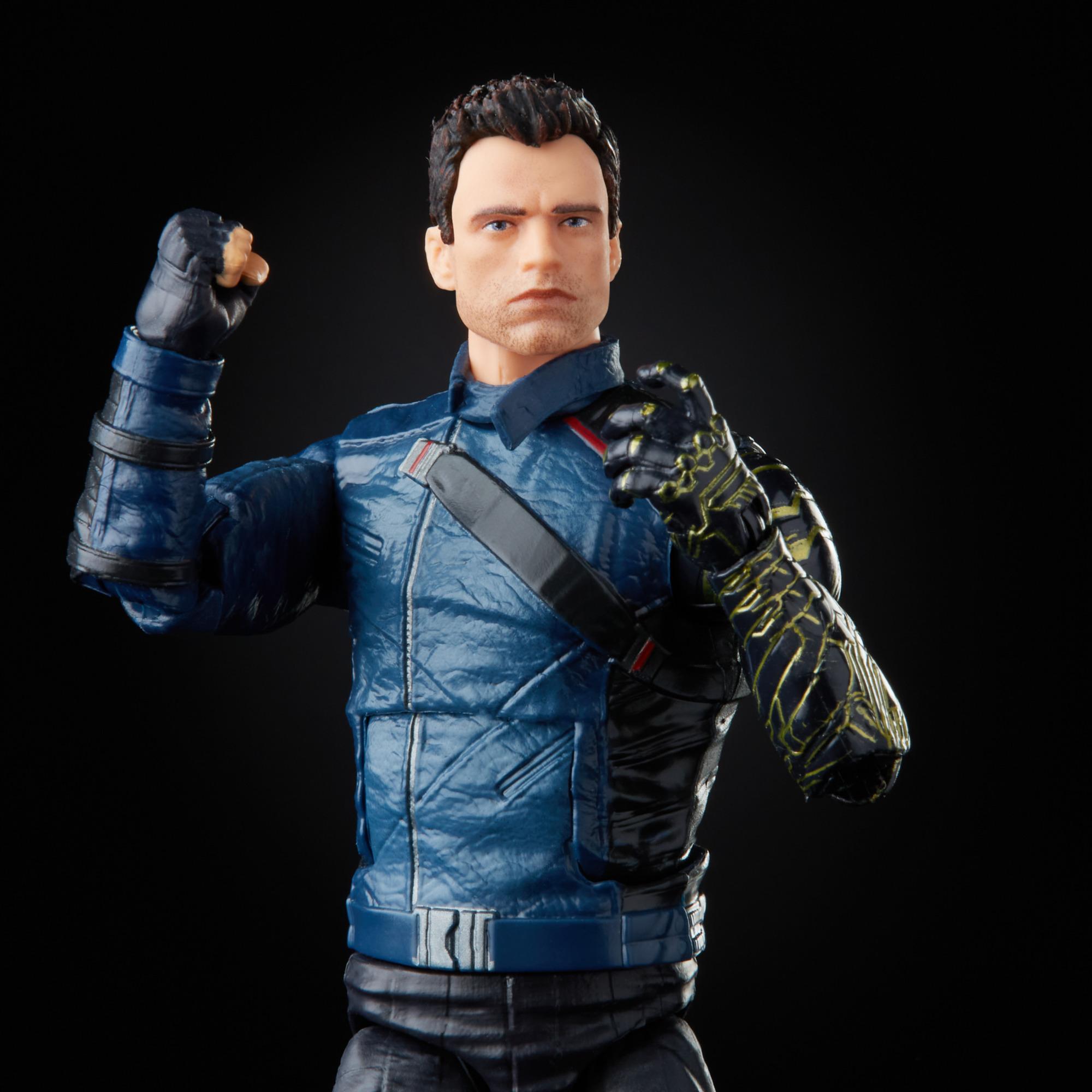 Marvel Legends Series Winter Soldier Build a Figure F0325 5010993791026