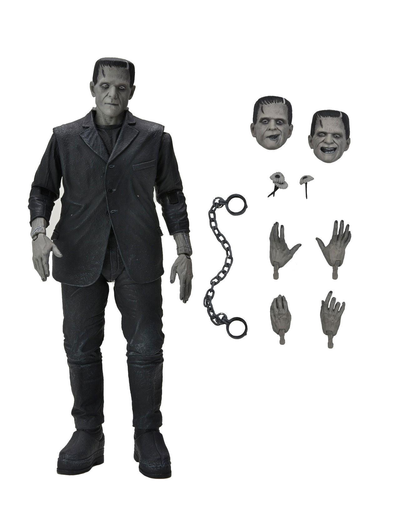 Universal Monsters Actionfigur Ultimate Frankenstein's Monster (Black & White) 18 cm NECA04805 634482048054