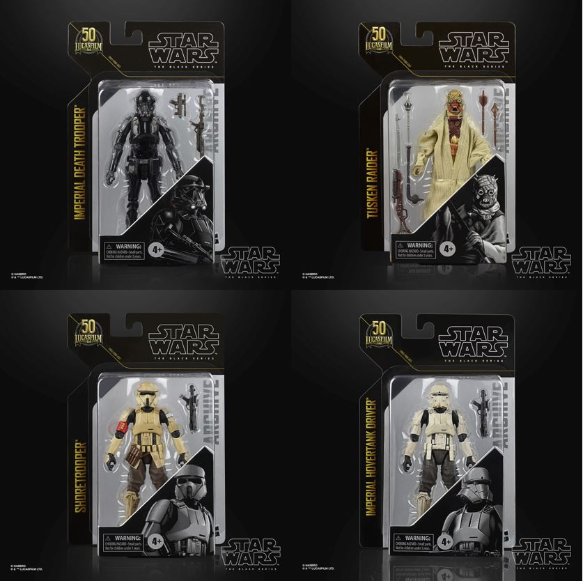 Star Wars The Black Series Archive Figures 15cm Assortment (4) Wave 2 F09615L01