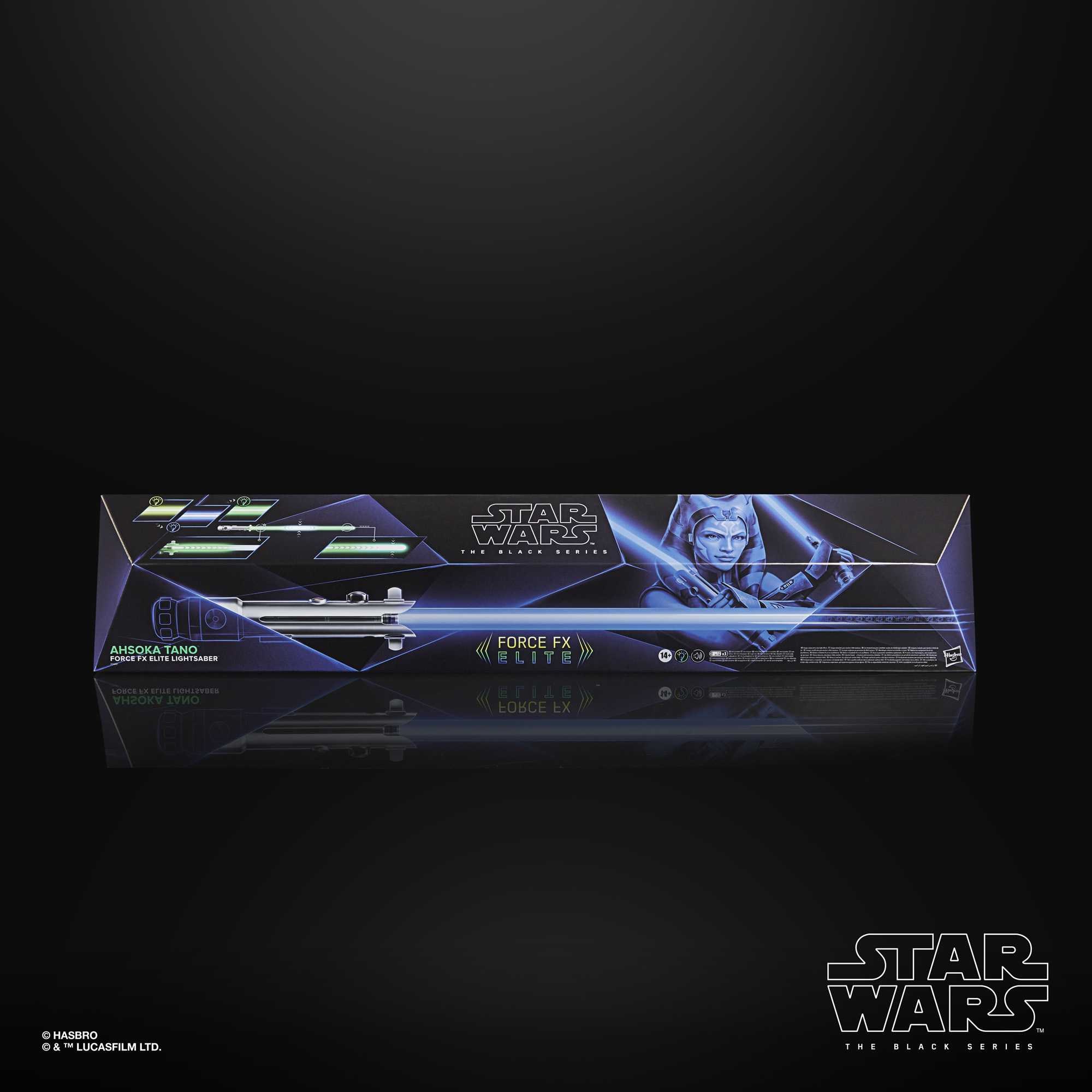 Star Wars The Black Series Ahsoka Tano Force FX Elite Lightsaber F04915L0 5010993802418