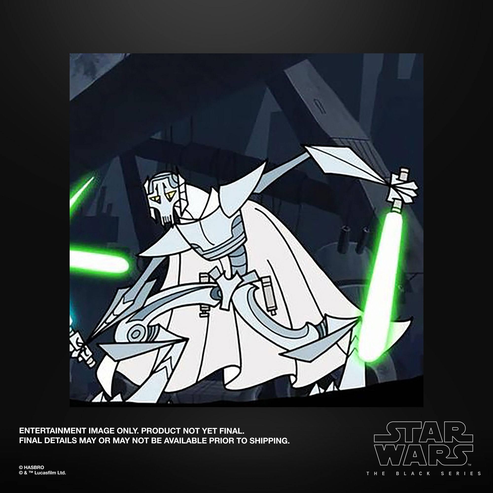 Star Wars The Clone Wars Black Series Actionfigur 2022 General Grievous 15 cm F53025L0 5010993938285