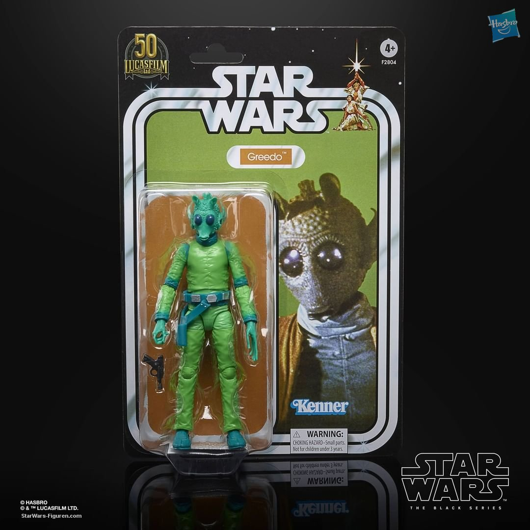 Star Wars The Black Series Greedo 6-Inch-Scale Lucasfilm 50th Anniversary F28045S00 05010993869497