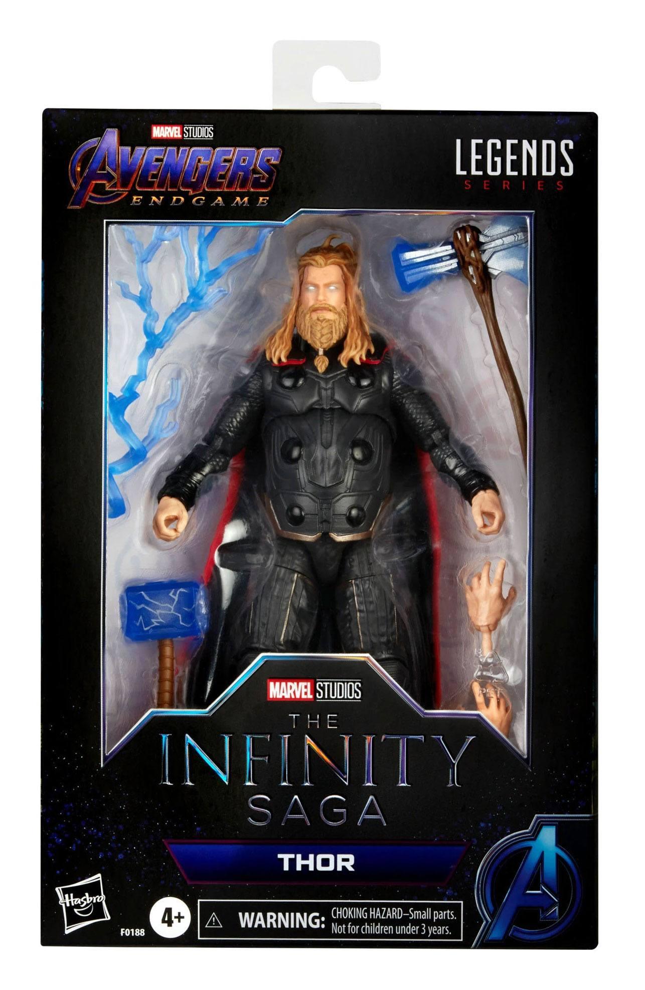 The Infinity Saga Marvel Legends Series Actionfigur 2021 Thor (Avengers: Endgame) 15 cm F01885L00 5010993839414