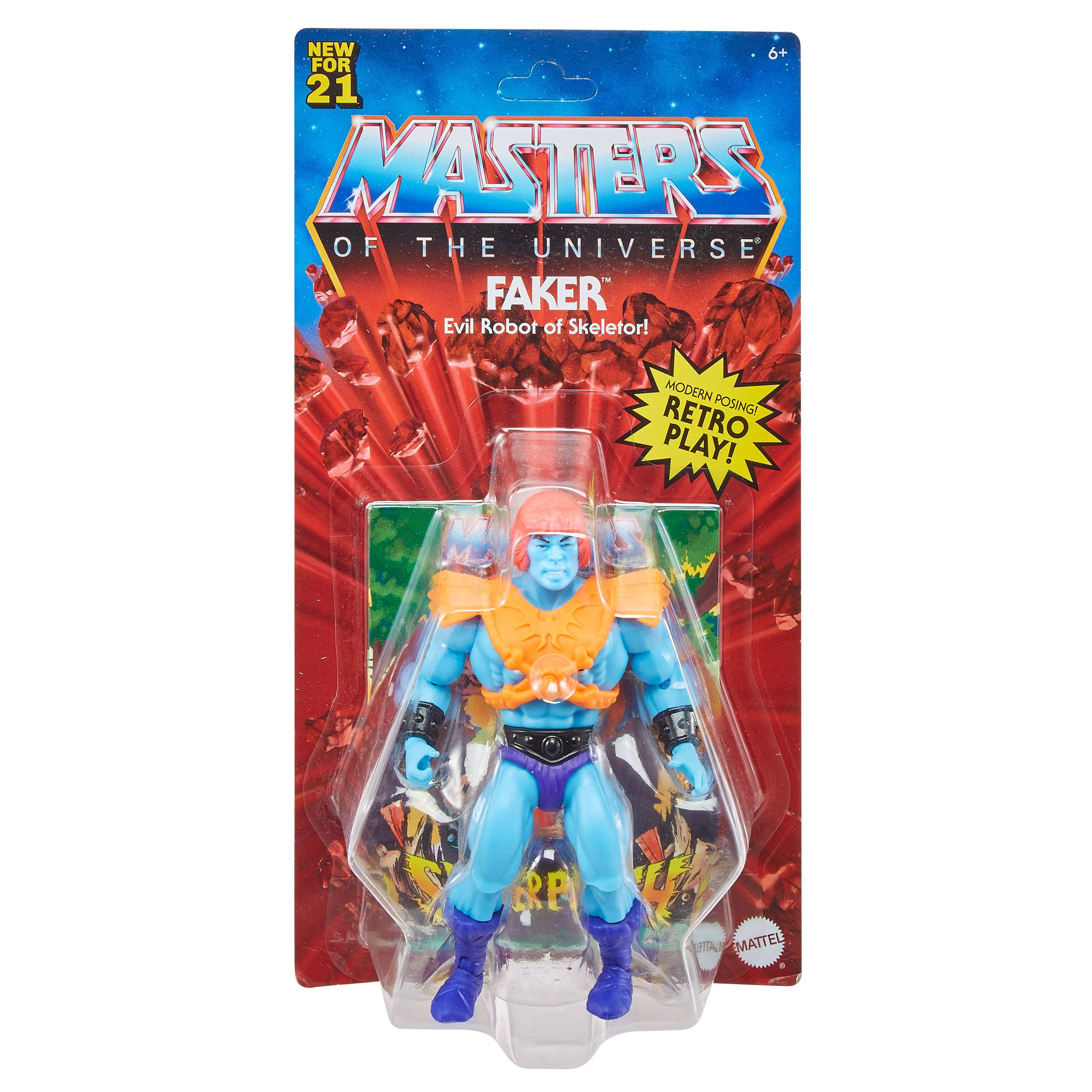 Masters of the Universe Origins Actionfigur 2021 Faker 14 cm (EU Karte) GYY28 887961982831