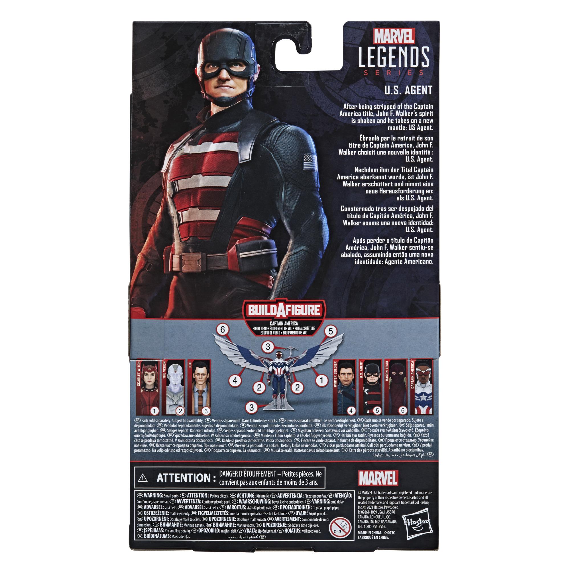 Marvel Legends Series Action Figure U.S. Agent Build a Figure F0246  5010993790814